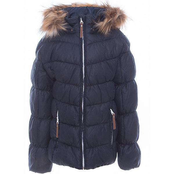 Куртка для девочки LuhtaОдежда<br>Куртка для девочки от известного бренда Luhta.<br>Куртка с отстегивающимся капюшоном, искусственный мех, элегантный силуэт, декоративная прострочка, боковые карманы на молнии, утепление 280 гр. Рекомендуемый температурный режим до -30 град. Внутри пальто находится температурный датчик.<br>Технологии: Luhta WATER REPELLENT; Luhta SAFETY; Luhta TEMPERATURE CONTROL; Luhta DOWN MIX; Luhta -30; Reflectors<br>Состав:<br>100% полиэстер<br>Ширина мм: 356; Глубина мм: 10; Высота мм: 245; Вес г: 519; Цвет: синий; Возраст от месяцев: 132; Возраст до месяцев: 144; Пол: Женский; Возраст: Детский; Размер: 152,146,140,134,164,158; SKU: 5413989;