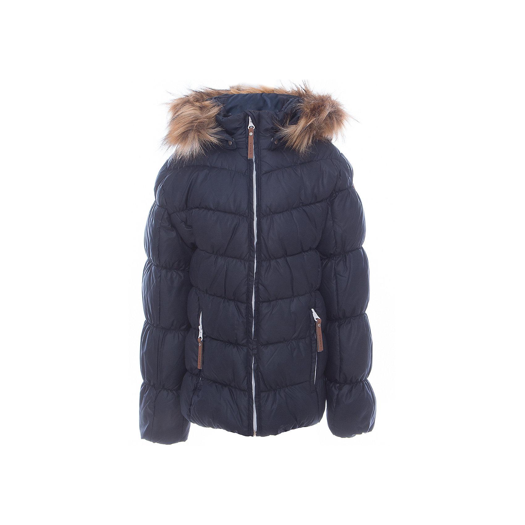Куртка для девочки LuhtaОдежда<br>Куртка для девочки от известного бренда Luhta.<br>Куртка с отстегивающимся капюшоном, искусственный мех, элегантный силуэт, декоративная прострочка, боковые карманы на молнии, утепление 280 гр. Рекомендуемый температурный режим до -30 град. Внутри пальто находится температурный датчик.<br>Технологии: Luhta WATER REPELLENT; Luhta SAFETY; Luhta TEMPERATURE CONTROL; Luhta DOWN MIX; Luhta -30; Reflectors<br>Состав:<br>100% полиэстер<br><br>Ширина мм: 356<br>Глубина мм: 10<br>Высота мм: 245<br>Вес г: 519<br>Цвет: синий<br>Возраст от месяцев: 96<br>Возраст до месяцев: 108<br>Пол: Женский<br>Возраст: Детский<br>Размер: 134,164,158,152,146,140<br>SKU: 5413989
