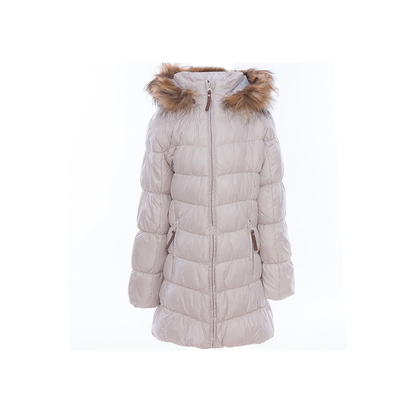 Пальто для девочки LuhtaОдежда<br>Пальто для девочки от известного бренда Luhta.<br>Пальто с отстегивающимся капюшоном, искусственный мех, элегантный силуэт, декоративная прострочка, боковые карманы на молнии, утепление 280 гр. Рекомендуемый температурный режим до -30 град. Внутри пальто находится температурный датчик.<br>Технологии: Luhta WATER REPELLENT; Luhta SAFETY; Luhta TEMPERATURE CONTROL; Luhta DOWN MIX; Luhta -30; Reflectors<br>Состав:<br>100% полиэстер<br><br>Ширина мм: 356<br>Глубина мм: 10<br>Высота мм: 245<br>Вес г: 519<br>Цвет: бежевый<br>Возраст от месяцев: 156<br>Возраст до месяцев: 168<br>Пол: Женский<br>Возраст: Детский<br>Размер: 164,134,140,146,152,158<br>SKU: 5414021
