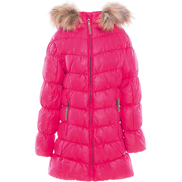 Пальто для девочки LuhtaОдежда<br>Пальто для девочки от известного бренда Luhta.<br>Пальто с отстегивающимся капюшоном, искусственный мех, элегантный силуэт, декоративная прострочка, боковые карманы на молнии, утепление 280 гр. Рекомендуемый температурный режим до -30 град. Внутри пальто находится температурный датчик.<br>Технологии: Luhta WATER REPELLENT; Luhta SAFETY; Luhta TEMPERATURE CONTROL; Luhta DOWN MIX; Luhta -30; Reflectors<br>Состав:<br>100% полиэстер<br><br>Ширина мм: 356<br>Глубина мм: 10<br>Высота мм: 245<br>Вес г: 519<br>Цвет: розовый<br>Возраст от месяцев: 96<br>Возраст до месяцев: 108<br>Пол: Женский<br>Возраст: Детский<br>Размер: 134,164,158,152,146,140<br>SKU: 5414035