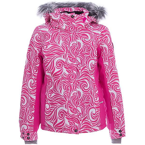 Куртка для девочки ICEPEAKОдежда<br>Характеристики товара:  <br><br>• пол: девочка;<br>• цвет: розовый;<br>• состав: 100% полиэстер;<br>• утеплитель : 160/140 гр;<br>• сезон: зима;<br>• температурный режим: до -25 °;<br>• отстегивающийся капюшон, принт;<br>• ткань стрейч;<br>• молния закрыта планкой;<br>• сформированный локоть;<br>• утяжка в нижней части куртки;<br>• снегозащитная юбка;<br>• регулируемый рукав на кнопках;<br>• эластичный внутренний манжет с  прорезью для пальца;<br>• утепленные и мягкие боковые карманы на молнии;<br>• карман для ski pass;<br>• мягкий и теплый внутренний воротник;<br>• светоотражающие элементы;<br>• страна бренда: Финляндия;<br>• страна изготовитель: Китай.<br><br>Куртка текстильная с капюшоном с утеплением 160/140 гр. Комфортная, обеспечивает тепло благодаря водо- и ветронепроницаемым свойствам ткань. Куртка имеет сформированный локоть, утяжку в нижней части куртки, эластичный внутренний манжет с  прорезью для пальца, утепленные и мягкие боковые карманы на молнии.<br><br>Эффективные светоотражатели позволят чувствовать себя в безопасности в любых погодных условиях, особенно в темное время суток.<br><br>Куртку Icepeak (Айспик) для девочки можно купить в нашем интернет-магазине.<br>Ширина мм: 356; Глубина мм: 10; Высота мм: 245; Вес г: 519; Цвет: красный; Возраст от месяцев: 180; Возраст до месяцев: 192; Пол: Женский; Возраст: Детский; Размер: 176,128,164,152,140; SKU: 5414042;
