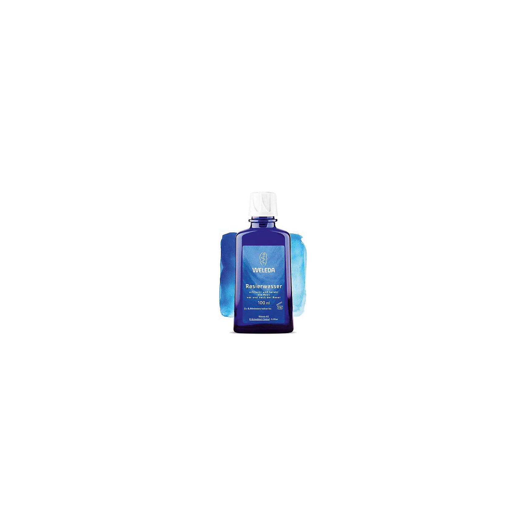 Лосьон до и после бритья 100мл, WeledaСредства для ухода<br>Лосьон до и после бритья 100мл, Weleda<br><br>Характеристики:<br><br>• объём: 100 мл.<br>• особенности: ухаживает и защищает<br>• состав: вода, дистиллят гамамелиса ароматическая композиция из натуральных эфирных масел, экстракт мирры, фарнезол*, цитраль*, лимонен*, гераниол*, линалоол*, (*на основе концентрата натуральных масел)<br>• для мужчин<br>• страна производитель: Германия<br><br>Более 75 лет швейцарская компания натуральной косметики Weleda (Веледа) заботится о малышах, будущих мамах и папах, а также природе. Инновационный лосьон для бриться и после бритья призван защищать кожу лица и ухаживать за ней, обеспечивая каждый раз качественное и щадящее бритьё. Формула лосьона, благодаря входящим в её состав натуральным компонентам обладает смягчающим и антисептическим эффектом. Лосьон подходит для использования при сухом бритье, помогая распрямлять щетину, просто нанесите его перед бритьём и дайте подсохнуть. <br><br>Лосьон обладает антисептическими компонентами, которые помогают при порезах. Природные компоненты состава крема не провоцируют аллергию, формула проверена дерматологами и не провоцирует раздражения. После завершения бриться вы можете воспользоваться другими средствами из серии для мужчин Weleda (Веледа). Лосьон подходит для любого типа кожи. Ощутите бережную заботу с лосьоном от Weleda (Веледа)!<br><br>Лосьон до и после бритья 100мл, Weleda можно купить в нашем интернет-магазине.<br><br>Ширина мм: 250<br>Глубина мм: 100<br>Высота мм: 250<br>Вес г: 100<br>Возраст от месяцев: 216<br>Возраст до месяцев: 1188<br>Пол: Мужской<br>Возраст: Детский<br>SKU: 5414504