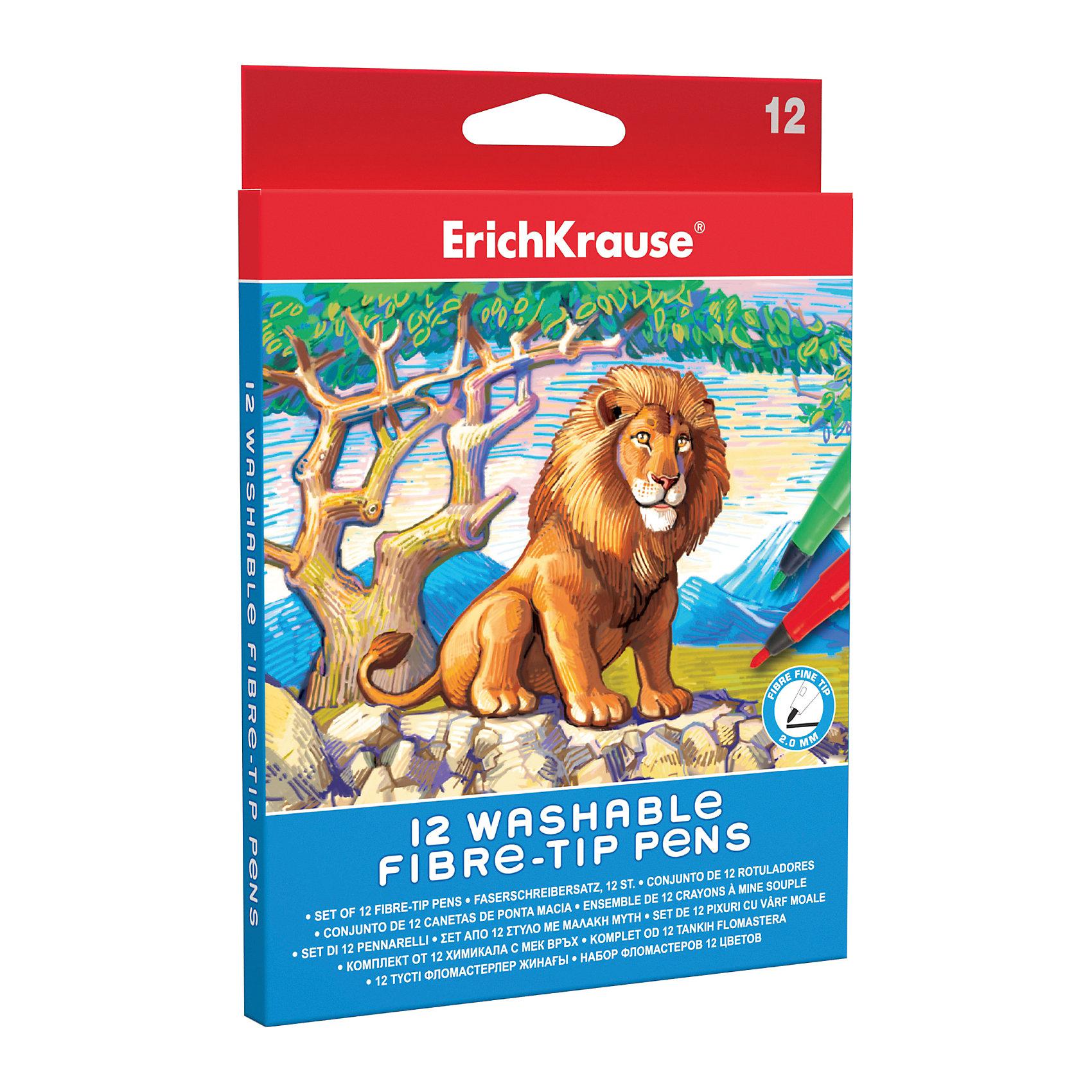 Фломастеры ArtBerry easy washable 12 цветовПисьменные принадлежности<br>Фломастеры ArtBerry easy washable 12 цветов<br><br>Характеристики:<br><br>• В набор входит: 12 фломастеров<br>• Размер упаковки: 18 * 1,2 * 13,5 см.<br>• Вес: 80 г.<br>• Для детей в возрасте: от 3-х лет<br>• Страна производитель: Россия<br><br>Безопасные фломастеры на водной основе отлично смываются с рук и одежды. Они ярко рисуют без сильного нажима и легко помещаются в руку. В набор входят двенадцать стандартных цветов, которые помогут создать любой шедевр. Рисуя фломастерами дети развивают моторику рук, творческие способности, учатся подбирать цветовую гамму и просто отлично проводят время. <br><br>Фломастеры ArtBerry easy washable 12 цветов можно купить в нашем интернет-магазине.<br><br>Ширина мм: 135<br>Глубина мм: 180<br>Высота мм: 12<br>Вес г: 80<br>Возраст от месяцев: 60<br>Возраст до месяцев: 216<br>Пол: Унисекс<br>Возраст: Детский<br>SKU: 5415411