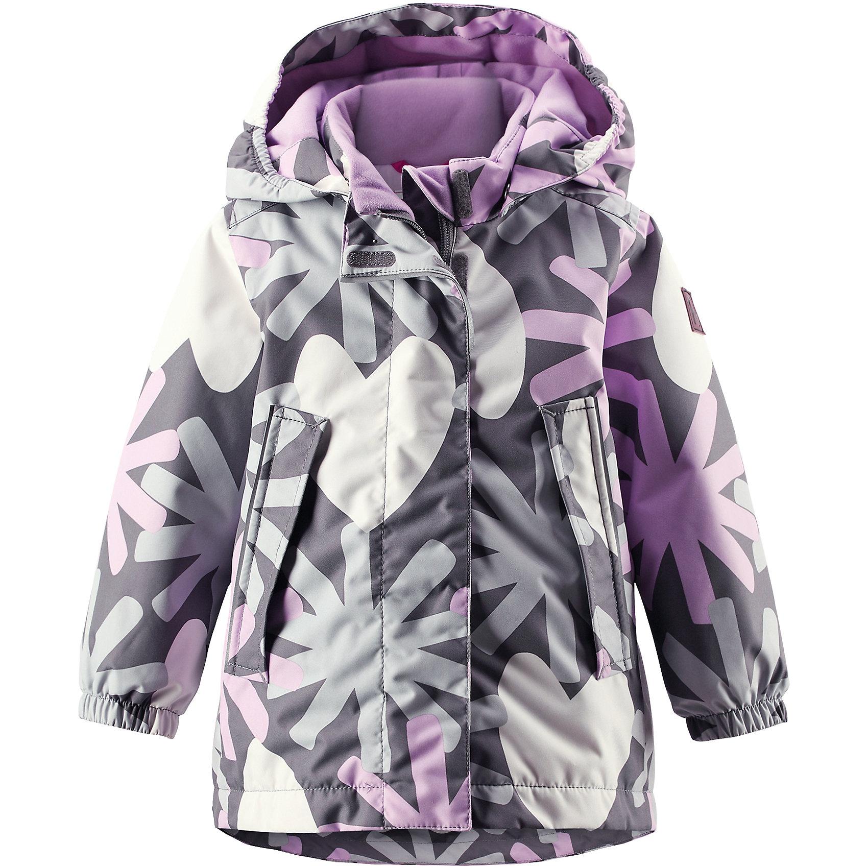Куртка Misteli для девочки ReimaХарактеристики товара:<br><br>• цвет: серый<br>• состав: 100% полиэстер, полиуретановое покрытие<br>• температурный режим: 0° до -20° градусов<br>• утеплитель: Reima Comfort + 160 г<br>• водонепроницаемая мембрана: 8000 мм<br>• основные швы проклеены<br>• съёмный капюшон<br>• молния<br>• светоотражающие детали<br>• «дышащий» материал<br>• ветро- водо- и грязеотталкивающий материал<br>• кнопки Reima® Play Layers <br>• карманы<br>• комфортная посадка<br>• страна производства: Китай<br>• страна бренда: Финляндия<br><br>Верхняя одежда для детей может быть модной и комфортной одновременно! Эти зимняя куртка поможет обеспечить ребенку комфорт и тепло. Она отлично смотрится с различной одеждой и обувью. Изделие удобно сидит и модно выглядит. Стильный дизайн разрабатывался специально для детей. Отличный вариант для активного отдыха зимой!<br><br>Одежда и обувь от финского бренда Reima пользуется популярностью во многих странах. Эти изделия стильные, качественные и удобные. Для производства продукции используются только безопасные, проверенные материалы и фурнитура. Порадуйте ребенка модными и красивыми вещами от Reima! <br><br>Куртку Misteli для девочки от финского бренда Reimatec® Reima (Рейма) можно купить в нашем интернет-магазине.<br><br>Ширина мм: 356<br>Глубина мм: 10<br>Высота мм: 245<br>Вес г: 519<br>Цвет: серый<br>Возраст от месяцев: 12<br>Возраст до месяцев: 15<br>Пол: Унисекс<br>Возраст: Детский<br>Размер: 80<br>SKU: 5415428