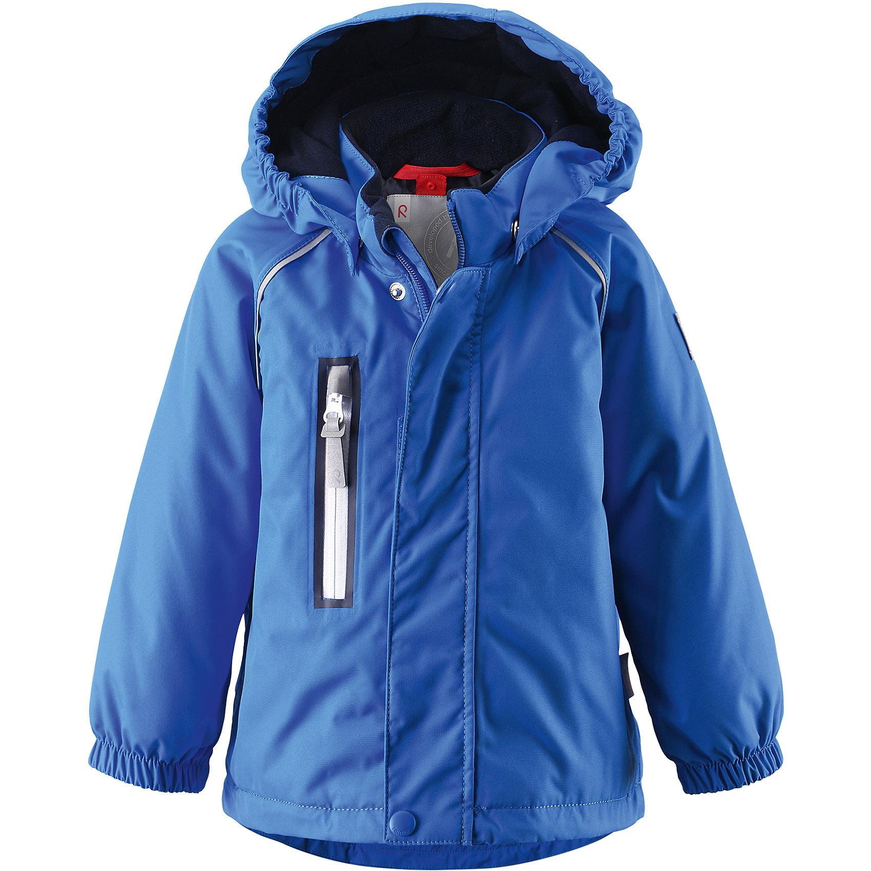 Куртка Pesue для девочки Reimatec® ReimaВерхняя одежда<br>Характеристики товара:<br><br>• цвет: синий<br>• состав: 100% полиэстер, полиуретановое покрытие<br>• температурный режим: 0° до -20° градусов<br>• утеплитель: Reima Comfort + 160 г<br>• водонепроницаемая мембрана: от 15000 мм<br>• основные швы проклеены<br>• съёмный капюшон<br>• молния<br>• светоотражающие детали<br>• «дышащий» материал<br>• ветро- водо- и грязеотталкивающий материал<br>• кнопки Reima® Play Layers <br>• карманы<br>• комфортная посадка<br>• страна производства: Китай<br>• страна бренда: Финляндия<br><br>Верхняя одежда для детей может быть модной и комфортной одновременно! Эти зимняя куртка поможет обеспечить ребенку комфорт и тепло. Она отлично смотрится с различной одеждой и обувью. Изделие удобно сидит и модно выглядит. Стильный дизайн разрабатывался специально для детей. Отличный вариант для активного отдыха зимой!<br><br>Одежда и обувь от финского бренда Reima пользуется популярностью во многих странах. Эти изделия стильные, качественные и удобные. Для производства продукции используются только безопасные, проверенные материалы и фурнитура. Порадуйте ребенка модными и красивыми вещами от Reima! <br><br>Куртку Pesue для девочки от финского бренда Reimatec® Reima (Рейма) можно купить в нашем интернет-магазине.<br><br>Ширина мм: 356<br>Глубина мм: 10<br>Высота мм: 245<br>Вес г: 519<br>Цвет: синий<br>Возраст от месяцев: 24<br>Возраст до месяцев: 36<br>Пол: Унисекс<br>Возраст: Детский<br>Размер: 98,92,86,80<br>SKU: 5415435