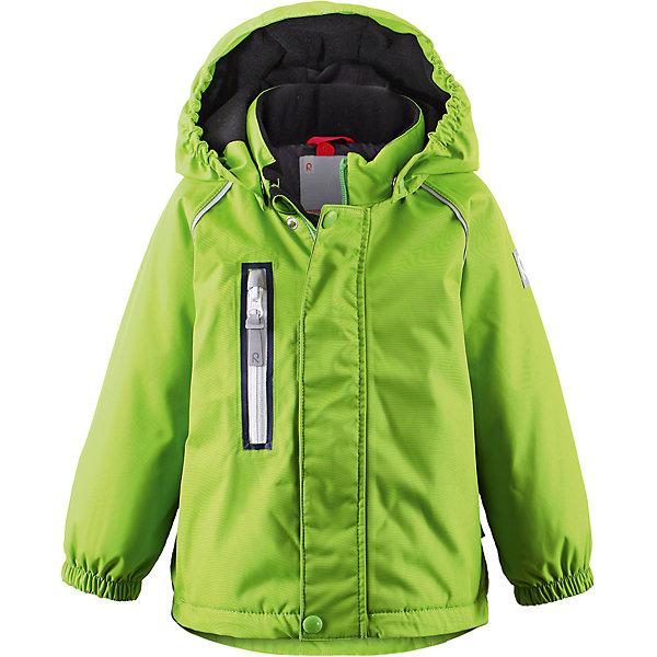 Куртка Pesue для девочки Reimatec® ReimaОдежда<br>Характеристики товара:<br><br>• цвет: зеленый<br>• состав: 100% полиэстер, полиуретановое покрытие<br>• температурный режим: 0° до -20° градусов<br>• утеплитель: Reima Comfort + 160 г<br>• водонепроницаемая мембрана: от 15000 мм<br>• основные швы проклеены<br>• съёмный капюшон<br>• молния<br>• светоотражающие детали<br>• «дышащий» материал<br>• ветро- водо- и грязеотталкивающий материал<br>• кнопки Reima® Play Layers <br>• карманы<br>• комфортная посадка<br>• страна производства: Китай<br>• страна бренда: Финляндия<br><br>Верхняя одежда для детей может быть модной и комфортной одновременно! Эти зимняя куртка поможет обеспечить ребенку комфорт и тепло. Она отлично смотрится с различной одеждой и обувью. Изделие удобно сидит и модно выглядит. Стильный дизайн разрабатывался специально для детей. Отличный вариант для активного отдыха зимой!<br><br>Одежда и обувь от финского бренда Reima пользуется популярностью во многих странах. Эти изделия стильные, качественные и удобные. Для производства продукции используются только безопасные, проверенные материалы и фурнитура. Порадуйте ребенка модными и красивыми вещами от Reima! <br><br>Куртку Pesue для девочки от финского бренда Reimatec® Reima (Рейма) можно купить в нашем интернет-магазине.<br>Ширина мм: 356; Глубина мм: 10; Высота мм: 245; Вес г: 519; Цвет: зеленый; Возраст от месяцев: 18; Возраст до месяцев: 24; Пол: Унисекс; Возраст: Детский; Размер: 92,98,80,86; SKU: 5415445;