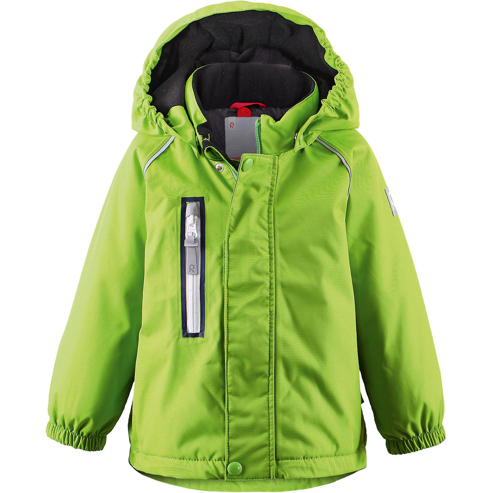 Куртка Pesue для девочки Reimatec® ReimaХарактеристики товара:<br><br>• цвет: зеленый<br>• состав: 100% полиэстер, полиуретановое покрытие<br>• температурный режим: 0° до -20° градусов<br>• утеплитель: Reima Comfort + 160 г<br>• водонепроницаемая мембрана: от 15000 мм<br>• основные швы проклеены<br>• съёмный капюшон<br>• молния<br>• светоотражающие детали<br>• «дышащий» материал<br>• ветро- водо- и грязеотталкивающий материал<br>• кнопки Reima® Play Layers <br>• карманы<br>• комфортная посадка<br>• страна производства: Китай<br>• страна бренда: Финляндия<br><br>Верхняя одежда для детей может быть модной и комфортной одновременно! Эти зимняя куртка поможет обеспечить ребенку комфорт и тепло. Она отлично смотрится с различной одеждой и обувью. Изделие удобно сидит и модно выглядит. Стильный дизайн разрабатывался специально для детей. Отличный вариант для активного отдыха зимой!<br><br>Одежда и обувь от финского бренда Reima пользуется популярностью во многих странах. Эти изделия стильные, качественные и удобные. Для производства продукции используются только безопасные, проверенные материалы и фурнитура. Порадуйте ребенка модными и красивыми вещами от Reima! <br><br>Куртку Pesue для девочки от финского бренда Reimatec® Reima (Рейма) можно купить в нашем интернет-магазине.<br><br>Ширина мм: 356<br>Глубина мм: 10<br>Высота мм: 245<br>Вес г: 519<br>Цвет: зеленый<br>Возраст от месяцев: 24<br>Возраст до месяцев: 36<br>Пол: Унисекс<br>Возраст: Детский<br>Размер: 98,92,86,80<br>SKU: 5415445