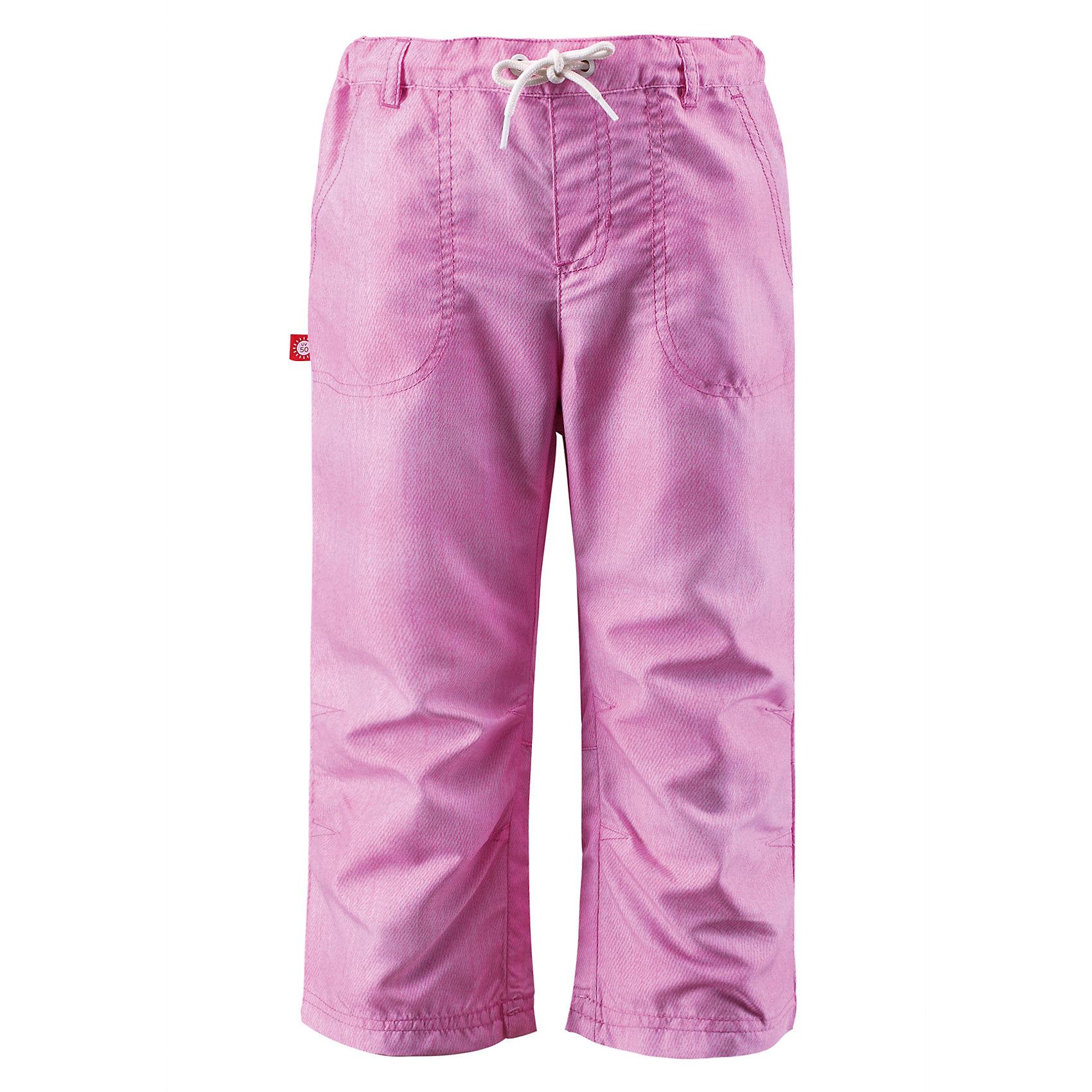 Брюки Synonym для девочки ReimaОдежда<br>Характеристики товара:<br><br>• цвет: розовый<br>• состав: 100% полиэстер<br>• температурный режим: от +15°до +5°С<br>• без утеплителя<br>• легкий материал<br>• дышащие<br>• шлевки<br>• шнурок в поясе<br>• карманы<br>• комфортная посадка<br>• страна производства: Китай<br>• страна бренда: Финляндия<br><br>Такие легкие брюки - отличный вариант одежды для межсезонья! Они помогут обеспечить ребенку комфорт и не помешают коже дышать. Брюки отлично смотрится с различной одеждой и обувью. Изделие удобно сидит и модно выглядит. Стильный дизайн разрабатывался специально для детей.<br><br>Аксессуары, одежда и обувь от финского бренда Reima пользуется популярностью во многих странах. Эти изделия стильные, качественные и удобные. Для производства продукции используются только безопасные, проверенные материалы и фурнитура. Порадуйте ребенка модными и красивыми вещами от Reima! <br><br>Брюки Synonym для девочки от финского бренда Reima (Рейма) можно купить в нашем интернет-магазине.<br><br>Ширина мм: 215<br>Глубина мм: 88<br>Высота мм: 191<br>Вес г: 336<br>Цвет: розовый<br>Возраст от месяцев: 96<br>Возраст до месяцев: 108<br>Пол: Унисекс<br>Возраст: Детский<br>Размер: 134,104,116,122,128,110<br>SKU: 5415506
