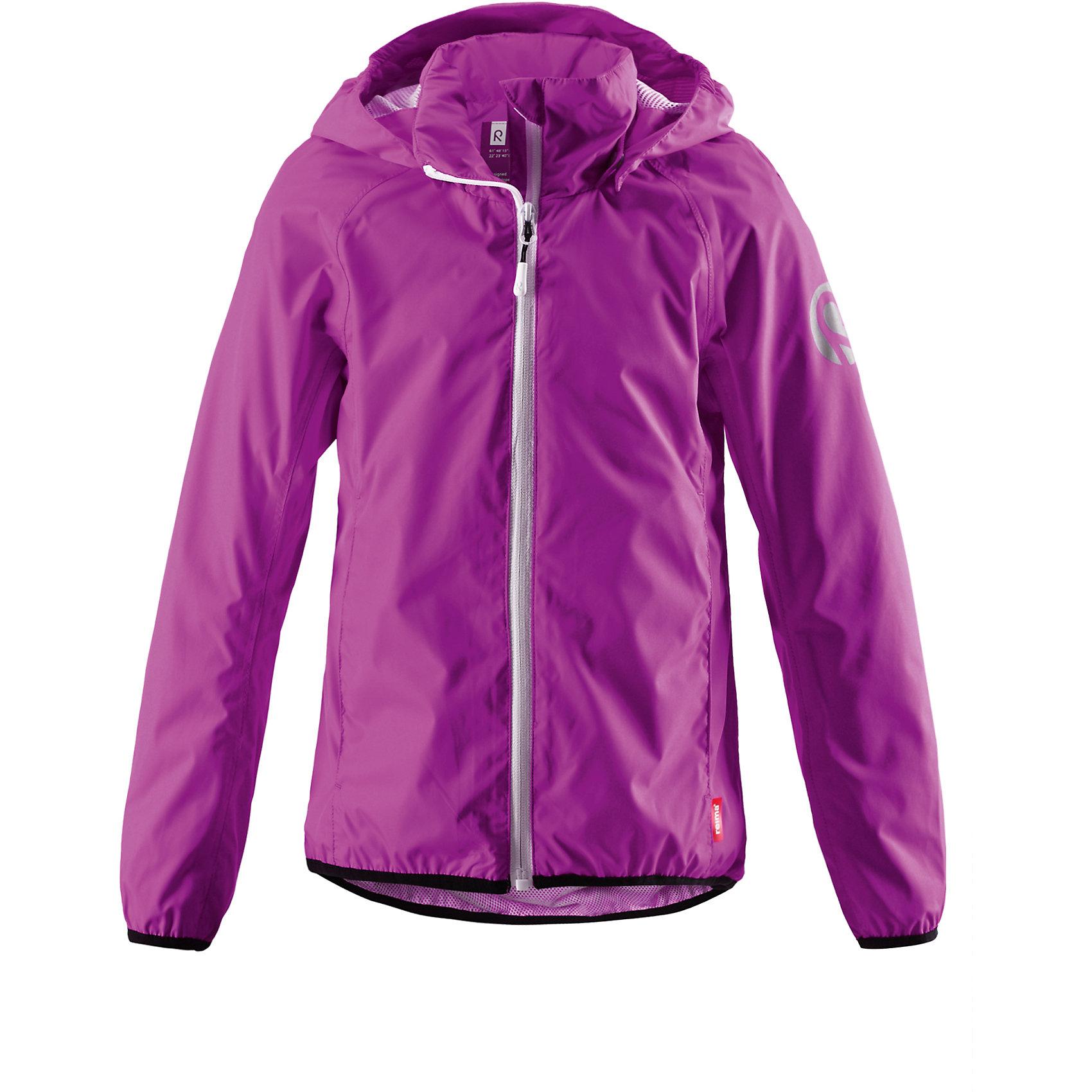 Куртка Fontane для девочки ReimaОдежда<br>Характеристики товара:<br><br>• цвет: фиолетовый<br>• состав: 100% полиэстер, полиуретановое покрытие<br>• температурный режим: от +5°до +15°С<br>• демисезон<br>• без утеплителя<br>• застежка: молния<br>• эластичные манжеты<br>• водо- и грязеотталкивающий материал<br>• ветронепроницаемый и «дышащий» материал<br>• отстегивающийся капюшон<br>• карманы<br>• высокий воротник<br>• комфортная посадка<br>• страна производства: Китай<br>• страна бренда: Финляндия<br><br>Верхняя одежда для детей может быть модной и комфортной одновременно! Легкая куртка поможет обеспечить ребенку комфорт и тепло. Она отлично смотрится с различной одеждой и обувью. Изделие удобно сидит и модно выглядит. Стильный дизайн разрабатывался специально для детей.<br><br>Одежда и обувь от финского бренда Reima пользуется популярностью во многих странах. Эти изделия стильные, качественные и удобные. Для производства продукции используются только безопасные, проверенные материалы и фурнитура. Порадуйте ребенка модными и красивыми вещами от Reima! <br><br>Куртку Fontane для девочки от финского бренда Reima (Рейма) можно купить в нашем интернет-магазине.<br><br>Ширина мм: 356<br>Глубина мм: 10<br>Высота мм: 245<br>Вес г: 519<br>Цвет: фиолетовый<br>Возраст от месяцев: 132<br>Возраст до месяцев: 144<br>Пол: Унисекс<br>Возраст: Детский<br>Размер: 152<br>SKU: 5415571
