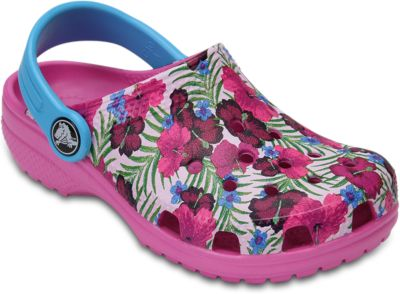 Сабо Kids Flowers, CROCS