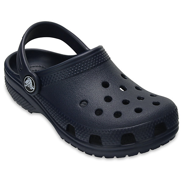 Сабо Classic clog CROCSПляжная обувь<br>Характеристики товара:<br><br>• цвет: черный<br>• сезон: лето<br>• тип: пляжная обувь<br>• материал: 100% полимер Croslite™<br>• литая модель<br>• вентиляционные отверстия<br>• бактериостатичный материал<br>• пяточный ремешок фиксирует стопу<br>• толстая устойчивая подошва<br>• отверстия для использования украшений<br>• анатомическая стелька с массажными точками<br>• страна бренда: США<br>• страна изготовитель: Китай<br><br>Сабо Classic clog обеспечивают детям необходимый комфорт, а анатомическая стелька с массажными линиями для стимуляции кровообращения позволяет ножкам дольше не уставать. <br><br>Материал, из которого они сделаны, не дает размножаться бактериям, поэтому такая обувь препятствует образованию неприятного запаха и появлению болезней стоп. <br><br>Обувь от американского бренда Crocs в данный момент завоевала широкую популярность во всем мире, и это не удивительно - ведь она невероятно удобна. <br><br>Сабо Classic clog от торговой марки Crocs можно купить в нашем интернет-магазине.<br><br>Ширина мм: 225<br>Глубина мм: 139<br>Высота мм: 112<br>Вес г: 290<br>Цвет: синий<br>Возраст от месяцев: 36<br>Возраст до месяцев: 48<br>Пол: Унисекс<br>Возраст: Детский<br>Размер: 27,34/35,28,29,30,21,22,23,24,25,26,31/32,33/34<br>SKU: 5416400