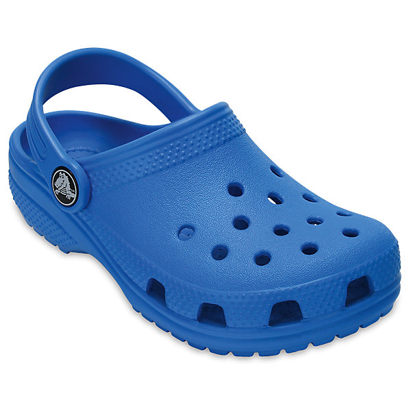 Сабо Classic clog, CROCSПляжная обувь<br>Характеристики товара:<br><br>• цвет: синий<br>• сезон: лето<br>• тип: пляжная обувь<br>• материал: 100% полимер Croslite™<br>• литая модель<br>• вентиляционные отверстия<br>• бактериостатичный материал<br>• пяточный ремешок фиксирует стопу<br>• толстая устойчивая подошва<br>• отверстия для использования украшений<br>• анатомическая стелька с массажными точками<br>• страна бренда: США<br>• страна изготовитель: Китай<br><br>Сабо Classic clog обеспечивают детям необходимый комфорт, а анатомическая стелька с массажными линиями для стимуляции кровообращения позволяет ножкам дольше не уставать. <br><br>Материал, из которого они сделаны, не дает размножаться бактериям, поэтому такая обувь препятствует образованию неприятного запаха и появлению болезней стоп. <br><br>Обувь от американского бренда Crocs в данный момент завоевала широкую популярность во всем мире, и это не удивительно - ведь она невероятно удобна. <br><br>Сабо Classic clog от торговой марки Crocs можно купить в нашем интернет-магазине.<br><br>Ширина мм: 225<br>Глубина мм: 139<br>Высота мм: 112<br>Вес г: 290<br>Цвет: голубой<br>Возраст от месяцев: 36<br>Возраст до месяцев: 48<br>Пол: Унисекс<br>Возраст: Детский<br>Размер: 27,34/35,33/34,31/32,26,25,24,23,22,21,30,29,28<br>SKU: 5416414