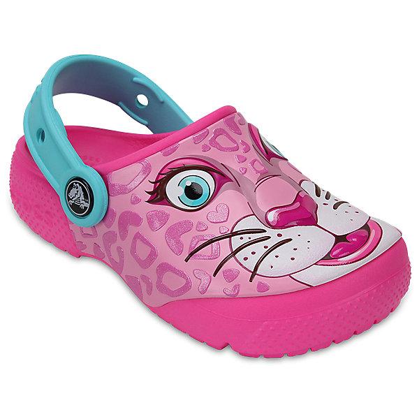 Сабо Kids Classic, CROCSПляжная обувь<br>Характеристики товара:<br><br>• цвет: розовый<br>• принт: Леопард<br>• сезон: лето<br>• тип: пляжная обувь<br>• материал: 100% полимер Croslite™<br>• под воздействием температуры тела принимают форму стопы<br>• полностью литая модель<br>• вентиляционные отверстия<br>• бактериостатичный материал<br>• пяточный ремешок фиксирует стопу<br>• отверстия для использования украшений<br>• анатомическая стелька с массажными точками<br>• страна бренда: США<br>• страна изготовитель: Китай<br><br>Для правильного развития ребенка крайне важно, чтобы обувь была удобной.<br><br>Такие сабо обеспечивают детям необходимый комфорт, а анатомическая стелька с массажными линиями для стимуляции кровообращения позволяет ножкам дольше не уставать. <br><br>Материал, из которого они сделаны, не дает размножаться бактериям, поэтому такая обувь препятствует образованию неприятного запаха и появлению болезней стоп.<br><br>Обувь от американского бренда Crocs в данный момент завоевала широкую популярность во всем мире, и это не удивительно - ведь она невероятно удобна. <br><br>Её носят врачи, спортсмены, звёзды шоу-бизнеса, люди, которым много времени приходится бывать на ногах - они понимают, как важна комфортная обувь. <br><br>Продукция Crocs - это качественные товары, созданные с применением новейших технологий. <br><br>Обувь отличается стильным дизайном и продуманной конструкцией. Изделие производится из качественных и проверенных материалов, которые безопасны для детей.<br><br>Сабо Kids Classic от торговой марки Crocs можно купить в нашем интернет-магазине.<br>Ширина мм: 225; Глубина мм: 139; Высота мм: 112; Вес г: 290; Цвет: розовый; Возраст от месяцев: 24; Возраст до месяцев: 36; Пол: Унисекс; Возраст: Детский; Размер: 33/34,31/32,25,24,23,22,21,30,29,28,26,27,34/35; SKU: 5416920;