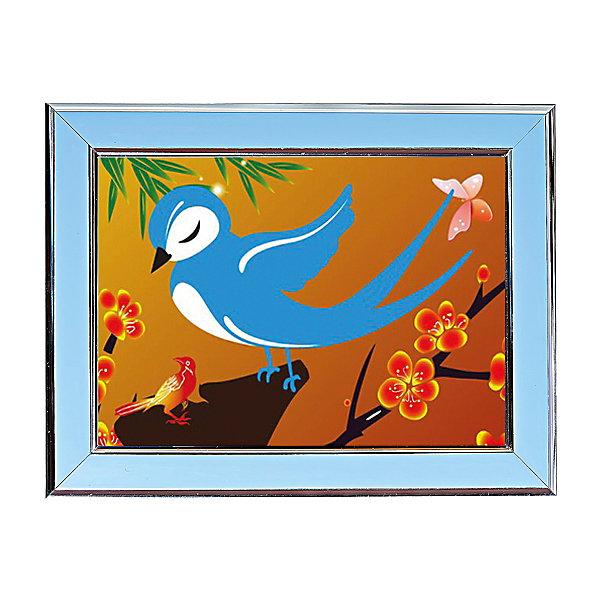 Мозаичная картина ЛасточкаМозаика детская<br>Мозаичная картина Ласточка.<br><br>Характеристика: <br><br>• Материал: картон, пластик, клей. <br>• Размер картинки: 17х21 см. <br>• Размер мозаичного элемента: 2,5 мм. <br>• Комплектация: контейнер для элементов мозаики, мозаичные элементы, специальный клеевой карандаш, трафарет со схемой рисунка, декоративная пластиковая рамка с оргстеклом. <br>• Яркие, насыщенные цвета. <br>• Отлично развивает моторику рук, внимание, мышление и воображение. <br><br>Создание картины из мозаики - увлекательное и полезное занятие, в процессе которого ребенок сможет развить моторику рук, внимание, усидчивость, цветовосприятие и воображение. В этом наборе уже есть все для создания маленького шедевра! Нужно лишь приклеить мозаичные элементы на основу с нанесенным контуром - и яркая картинка готова.<br><br>Мозаичную картину Ласточка можно купить в нашем магазине.<br>Ширина мм: 200; Глубина мм: 225; Высота мм: 30; Вес г: 250; Возраст от месяцев: 84; Возраст до месяцев: 144; Пол: Унисекс; Возраст: Детский; SKU: 5417613;
