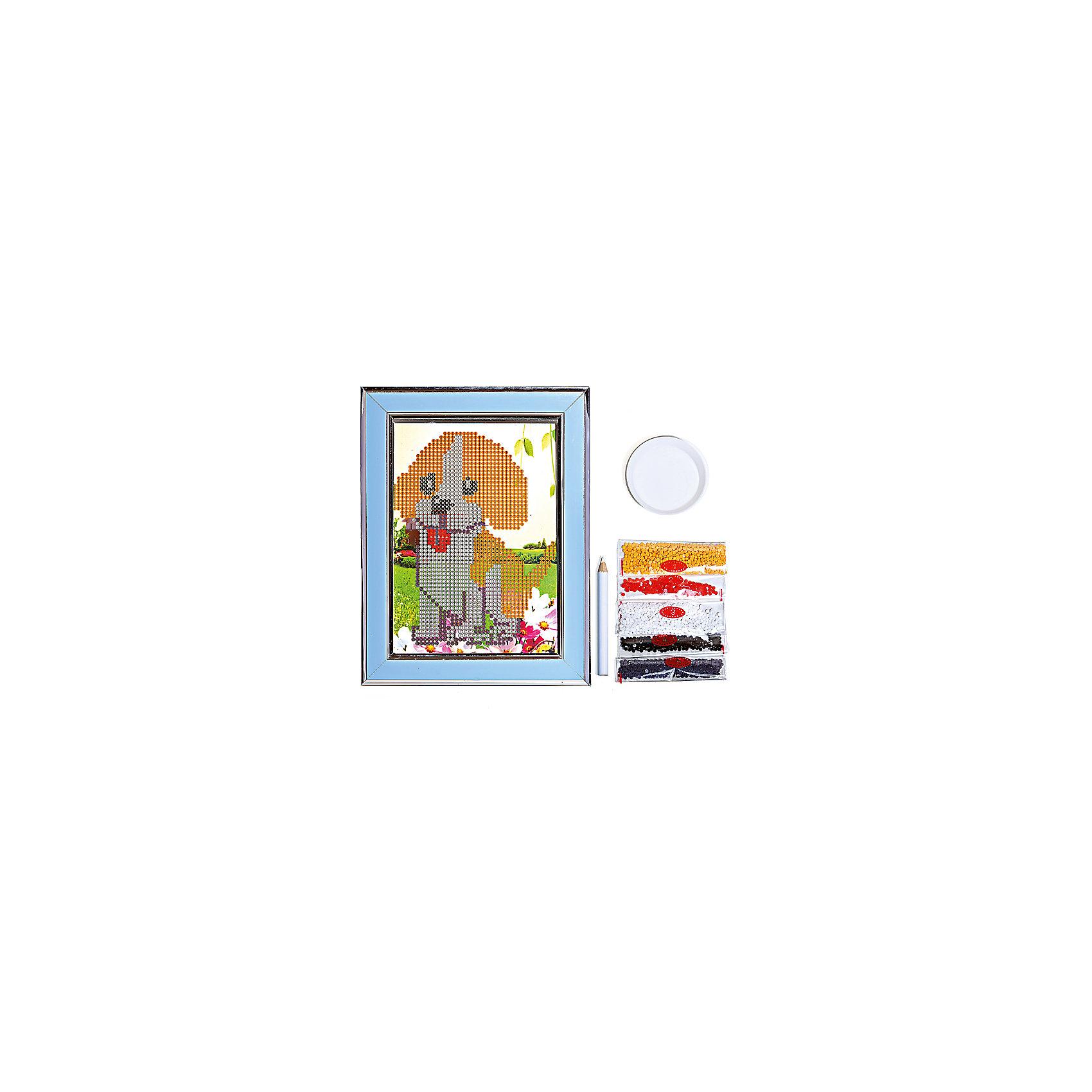 Мозаичная картина ЩенокМозаика детская<br>Мозаичная картина Щенок.<br><br>Характеристика: <br><br>• Материал: картон, пластик, клей. <br>• Размер картинки: 17х21 см. <br>• Размер мозаичного элемента: 2,5 мм. <br>• Комплектация: контейнер для элементов мозаики, мозаичные элементы, специальный клеевой карандаш, трафарет со схемой рисунка, декоративная пластиковая рамка с оргстеклом. <br>• Яркие, насыщенные цвета. <br>• Отлично развивает моторику рук, внимание, мышление и воображение. <br><br>Создание картины из мозаики - увлекательное и полезное занятие, в процессе которого ребенок сможет развить моторику рук, внимание, усидчивость, цветовосприятие и воображение. В этом наборе уже есть все для создания маленького шедевра! Нужно лишь приклеить мозаичные элементы на основу с нанесенным контуром - и яркая картинка готова.<br><br>Мозаичную картину Щенок можно купить в нашем магазине.<br><br>Ширина мм: 200<br>Глубина мм: 225<br>Высота мм: 30<br>Вес г: 250<br>Возраст от месяцев: 84<br>Возраст до месяцев: 144<br>Пол: Унисекс<br>Возраст: Детский<br>SKU: 5417614