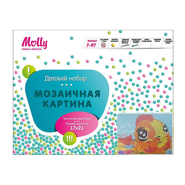 Мозаичная картина РыбкаМозаика детская<br>Мозаичная картина Рыбка. <br><br>Характеристика: <br><br>• Материал: картон, пластик, клей. <br>• Размер картинки: 17х21 см. <br>• Размер мозаичного элемента: 2,5 мм. <br>• Комплектация: контейнер для элементов мозаики, мозаичные элементы, специальный клеевой карандаш, трафарет со схемой рисунка, декоративная пластиковая рамка с оргстеклом. <br>• Яркие, насыщенные цвета. <br>• Отлично развивает моторику рук, внимание, мышление и воображение. <br><br>Создание картины из мозаики - увлекательное и полезное занятие, в процессе которого ребенок сможет развить моторику рук, внимание, усидчивость, цветовосприятие и воображение. В этом наборе уже есть все для создания маленького шедевра! Нужно лишь приклеить мозаичные элементы на основу с нанесенным контуром - и яркая картинка готова.<br><br>Мозаичную картину Рыбка можно купить в нашем магазине.<br>Ширина мм: 200; Глубина мм: 225; Высота мм: 30; Вес г: 250; Возраст от месяцев: 84; Возраст до месяцев: 36; Пол: Унисекс; Возраст: Детский; SKU: 5417618;
