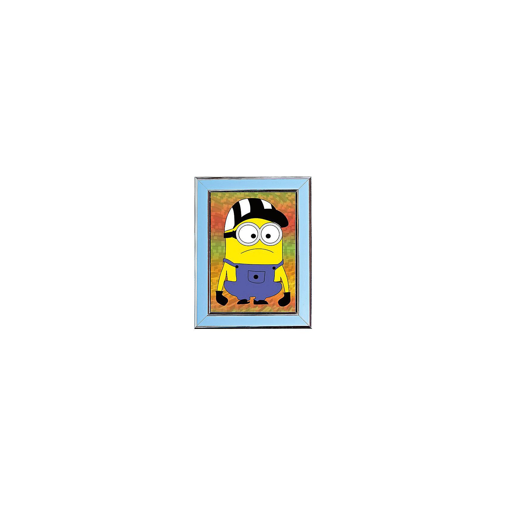 Мозаичная картина Популярный мультикМозаичная картина Популярный мультик. <br><br>Характеристика: <br><br>• Материал: картон, пластик, клей. <br>• Размер картинки: 17х21 см. <br>• Размер мозаичного элемента: 2,5 мм. <br>• Комплектация: контейнер для элементов мозаики, мозаичные элементы, специальный клеевой карандаш, трафарет со схемой рисунка, декоративная пластиковая рамка с оргстеклом. <br>• Яркие, насыщенные цвета. <br>• Отлично развивает моторику рук, внимание, мышление и воображение. <br><br>Создание картины из мозаики - увлекательное и полезное занятие, в процессе которого ребенок сможет развить моторику рук, внимание, усидчивость, цветовосприятие и воображение. В этом наборе уже есть все для создания маленького шедевра! Нужно лишь приклеить мозаичные элементы на основу с нанесенным контуром - и яркая картинка готова.<br><br>Мозаичную картину Популярный мультик можно купить в нашем магазине.<br><br>Ширина мм: 200<br>Глубина мм: 225<br>Высота мм: 30<br>Вес г: 250<br>Возраст от месяцев: 84<br>Возраст до месяцев: 36<br>Пол: Унисекс<br>Возраст: Детский<br>SKU: 5417619