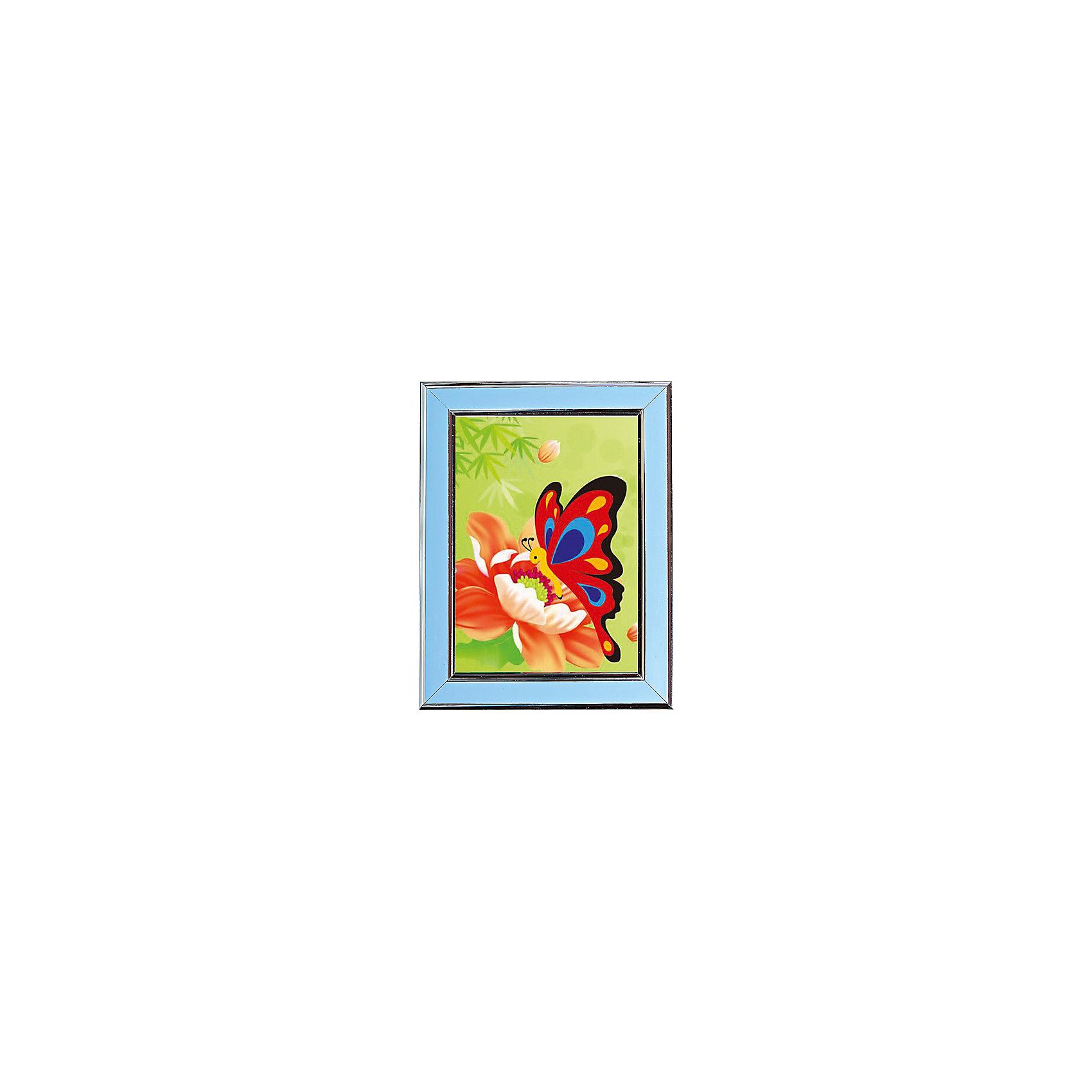 Мозаичная картина БабочкаМозаика<br>Мозаичная картина Бабочка. <br><br>Характеристика: <br><br>• Материал: картон, пластик, клей. <br>• Размер картинки: 17х21 см. <br>• Размер мозаичного элемента: 2,5 мм. <br>• Комплектация: контейнер для элементов мозаики, мозаичные элементы, специальный клеевой карандаш, трафарет со схемой рисунка, декоративная пластиковая рамка с оргстеклом. <br>• Яркие, насыщенные цвета. <br>• Отлично развивает моторику рук, внимание, мышление и воображение. <br><br>Создание картины из мозаики - увлекательное и полезное занятие, в процессе которого ребенок сможет развить моторику рук, внимание, усидчивость, цветовосприятие и воображение. В этом наборе уже есть все для создания маленького шедевра! Нужно лишь приклеить мозаичные элементы на основу с нанесенным контуром - и яркая картинка готова.<br><br>Мозаичную картину Бабочка можно купить в нашем магазине.<br><br>Ширина мм: 200<br>Глубина мм: 225<br>Высота мм: 30<br>Вес г: 250<br>Возраст от месяцев: 84<br>Возраст до месяцев: 36<br>Пол: Унисекс<br>Возраст: Детский<br>SKU: 5417621