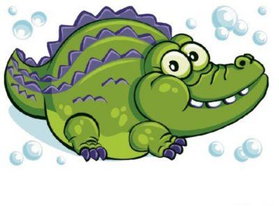 Molly Раскраска по номерам Крокодил-мечтатель
