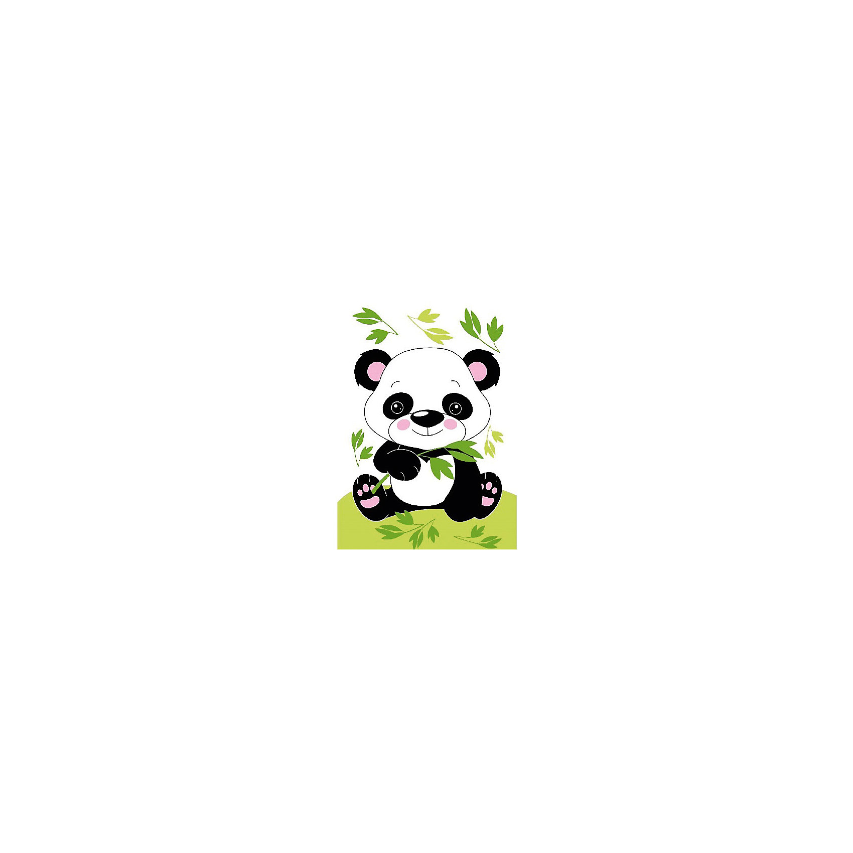 Набор юного художника Маленькая панда, 20*30 смДетские картины с раскраской по номерам размером 20*30. На деревянном подрамнике, с прогрунтованным холстом и  нанесенными контурами картины, с указанием цвета закраски, акриловыми красками, 3 кисточками и креплением на стену. Уровень сложности, количество красок указаны на коробке.<br><br>Ширина мм: 300<br>Глубина мм: 200<br>Высота мм: 30<br>Вес г: 330<br>Возраст от месяцев: 60<br>Возраст до месяцев: 108<br>Пол: Унисекс<br>Возраст: Детский<br>SKU: 5417657