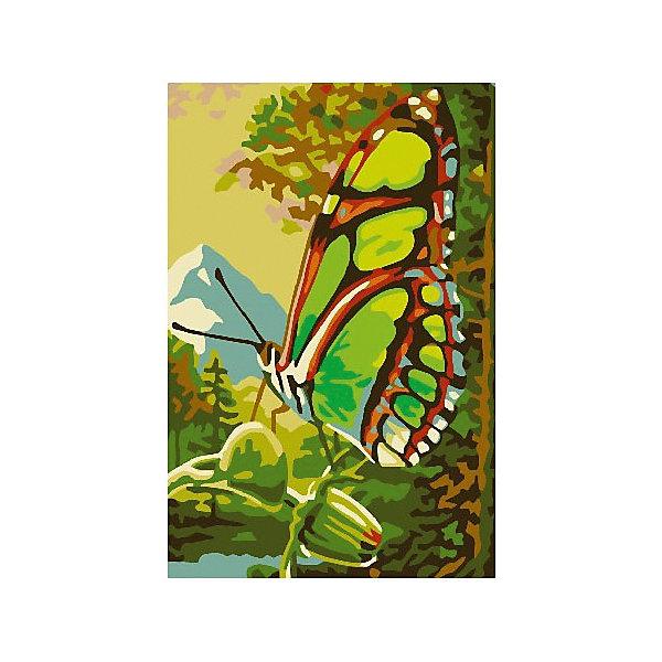 Набор юного художника Бабочка, 20*30 смРаскраски по номерам<br>Характеристики товара:<br><br>• материал упаковки: картон <br>• в комплект входит: холст, акриловые краски, 3 кисти<br>• количество цветов: 14<br>• возраст: от 5 лет<br>• вес: 330 г<br>• размер картинки: 20х30 см<br>• габариты упаковки: 30х20х3 см<br>• страна производитель: Китай<br><br>Картины по номерам совсем недавно появились на рынке, но уже успели завоевать популярность. Закрашивая черно-белые места на картинке, ребенок получит полноценную картину и опыт художественного мастерства. Материалы, использованные при изготовлении товаров, проходят проверку на качество и соответствие международным требованиям по безопасности. <br><br>Набор юного художника Бабочка, 20*30 см можно купить в нашем интернет-магазине.<br>Ширина мм: 300; Глубина мм: 200; Высота мм: 30; Вес г: 330; Возраст от месяцев: 60; Возраст до месяцев: 2147483647; Пол: Унисекс; Возраст: Детский; SKU: 5417664;