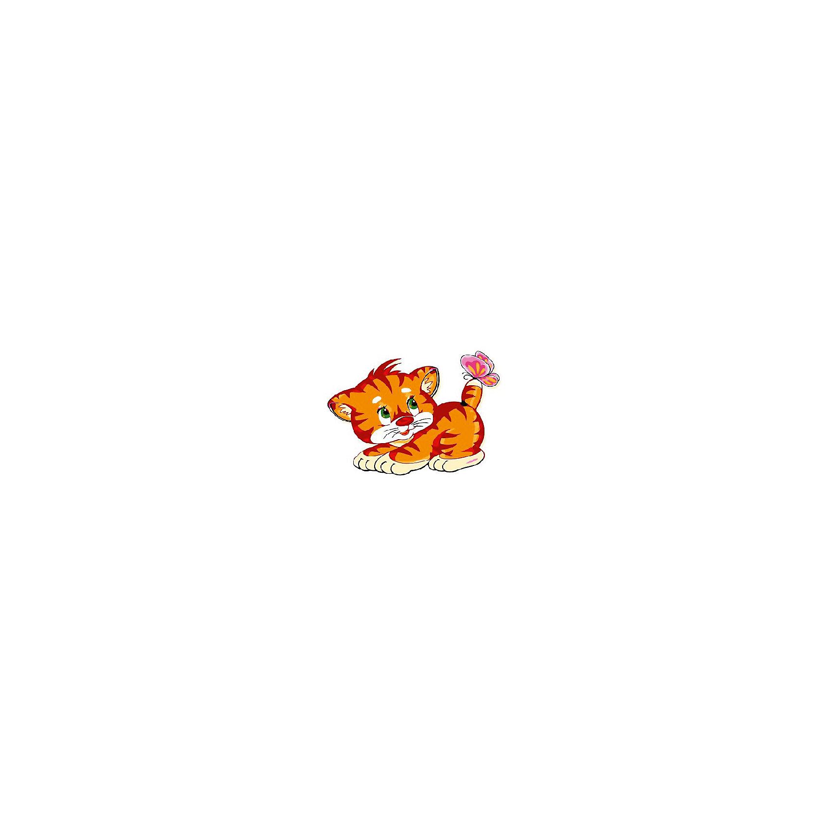 Набор юного художника Тигрёнок с бабочкой, 20*30 смДетские картины с раскраской по номерам размером 20*30. На деревянном подрамнике, с прогрунтованным холстом и  нанесенными контурами картины, с указанием цвета закраски, акриловыми красками, 3 кисточками и креплением на стену. Уровень сложности, количество красок указаны на коробке.<br><br>Ширина мм: 300<br>Глубина мм: 200<br>Высота мм: 30<br>Вес г: 330<br>Возраст от месяцев: 60<br>Возраст до месяцев: 108<br>Пол: Унисекс<br>Возраст: Детский<br>SKU: 5417668