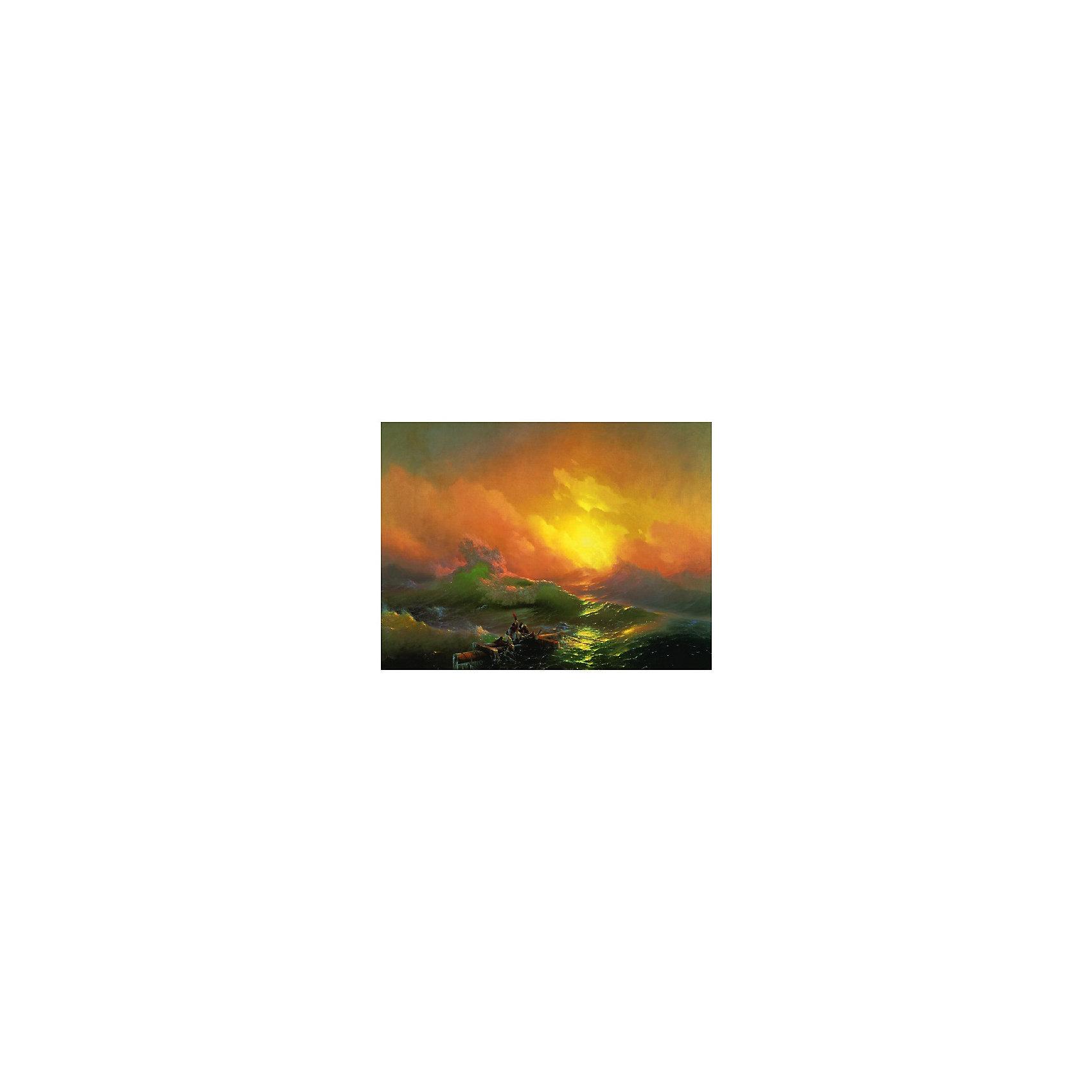 Картина по номерам Айвазовский: Девятый вал, 40*50 смРисование<br>Картины с раскраской по номерам размером 40*50. На деревянном подрамнике, с прогрунтованным холстом и  нанесенными контурами картины, с указанием цвета закраски, акриловыми красками, 3 кисточками и креплением на стену. Уровень сложности, количество красок указаны на коробке.<br><br>Ширина мм: 500<br>Глубина мм: 400<br>Высота мм: 40<br>Вес г: 730<br>Возраст от месяцев: 108<br>Возраст до месяцев: 2147483647<br>Пол: Унисекс<br>Возраст: Детский<br>SKU: 5417677