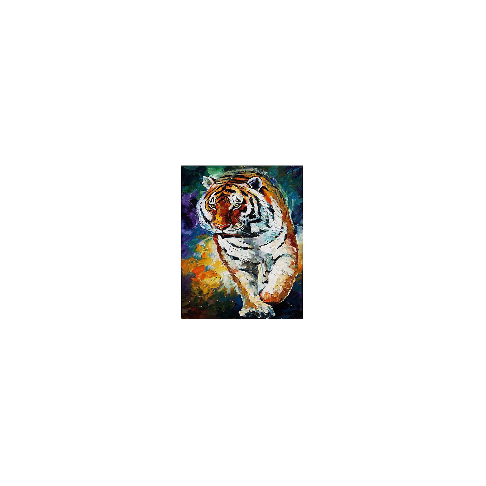 Картина по номерам Афремов: Тигр, 40*50 смРаскраски по номерам<br>Характеристики товара:<br><br>• материал упаковки: картон <br>• в комплект входит: холст, акриловые краски, 3 кисти<br>• количество красок: 24<br>• возраст: от 8 лет<br>• вес: 730 г<br>• размер картинки: 40х50 см<br>• габариты упаковки: 40х50х4 см<br>• страна производитель: Китай<br><br>Наборы для создания картин по номерам совсем недавно появились на рынке, но уже успели завоевать популярность. Закрашивая черно-белые места на картинке, ребенок получит полноценную картину и развитие художественного мастерства. Материалы, использованные при изготовлении товаров, проходят проверку на качество и соответствие международным требованиям по безопасности. <br><br>Картину по номерам Афремов: Тигр, 40*50 см можно купить в нашем интернет-магазине.<br><br>Ширина мм: 500<br>Глубина мм: 400<br>Высота мм: 40<br>Вес г: 730<br>Возраст от месяцев: 108<br>Возраст до месяцев: 2147483647<br>Пол: Унисекс<br>Возраст: Детский<br>SKU: 5417690
