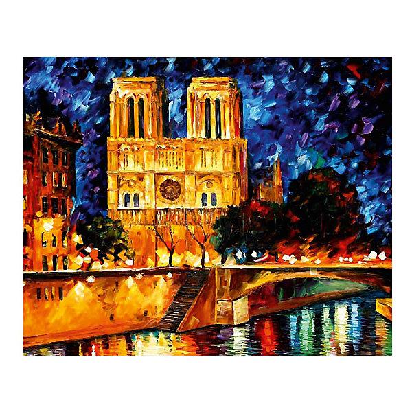Картина по номерам Афремов: Собор Парижской Богоматери, 40*50 смРаскраски по номерам<br>Характеристики товара:<br><br>• материал упаковки: картон <br>• в комплект входит: холст, акриловые краски, 3 кисти<br>• количество красок: 24<br>• возраст: от 8 лет<br>• вес: 730 г<br>• размер картинки: 40х50 см<br>• габариты упаковки: 40х50х4 см<br>• страна производитель: Китай<br><br>Наборы для создания картин по номерам совсем недавно появились на рынке, но уже успели завоевать популярность. Закрашивая черно-белые места на картинке, ребенок получит полноценную картину и развитие художественного мастерства. Материалы, использованные при изготовлении товаров, проходят проверку на качество и соответствие международным требованиям по безопасности. <br><br>Картину по номерам Афремов: Собор Парижской Богоматери, 40*50 см можно купить в нашем интернет-магазине.<br>Ширина мм: 500; Глубина мм: 400; Высота мм: 40; Вес г: 730; Возраст от месяцев: 108; Возраст до месяцев: 2147483647; Пол: Унисекс; Возраст: Детский; SKU: 5417691;