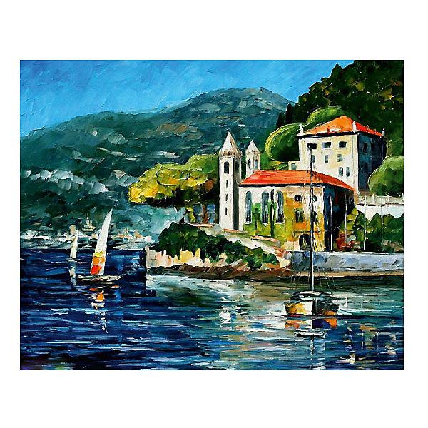 Картина по номерам Афремов: Озеро Комо, Италия, 40*50 смРаскраски по номерам<br>Характеристики товара:<br><br>• материал упаковки: картон <br>• в комплект входит: холст, акриловые краски, 3 кисти<br>• количество красок: 25<br>• возраст: от 8 лет<br>• вес: 730 г<br>• размер картинки: 40х50 см<br>• габариты упаковки: 40х50х4 см<br>• страна производитель: Китай<br><br>Наборы для создания картин по номерам совсем недавно появились на рынке, но уже успели завоевать популярность. Закрашивая черно-белые места на картинке, ребенок получит полноценную картину и развитие художественного мастерства. Материалы, использованные при изготовлении товаров, проходят проверку на качество и соответствие международным требованиям по безопасности. <br><br>Картину по номерам Афремов: Озеро Комо, Италия, 40*50 см можно купить в нашем интернет-магазине.<br>Ширина мм: 500; Глубина мм: 400; Высота мм: 40; Вес г: 730; Возраст от месяцев: 108; Возраст до месяцев: 2147483647; Пол: Унисекс; Возраст: Детский; SKU: 5417694;