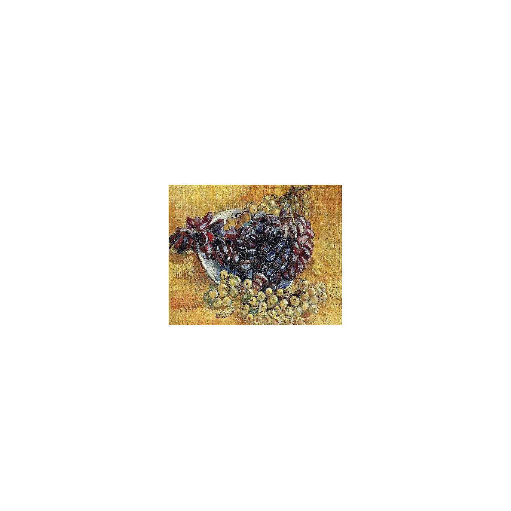 Картина по номерам Ван Гог: Натюрморт с виноградом, 40*50 смКартины с раскраской по номерам размером 40*50. На деревянном подрамнике, с прогрунтованным холстом и  нанесенными контурами картины, с указанием цвета закраски, акриловыми красками, 3 кисточками и креплением на стену. Уровень сложности, количество красок указаны на коробке.<br><br>Ширина мм: 500<br>Глубина мм: 400<br>Высота мм: 40<br>Вес г: 730<br>Возраст от месяцев: 108<br>Возраст до месяцев: 2147483647<br>Пол: Унисекс<br>Возраст: Детский<br>SKU: 5417701
