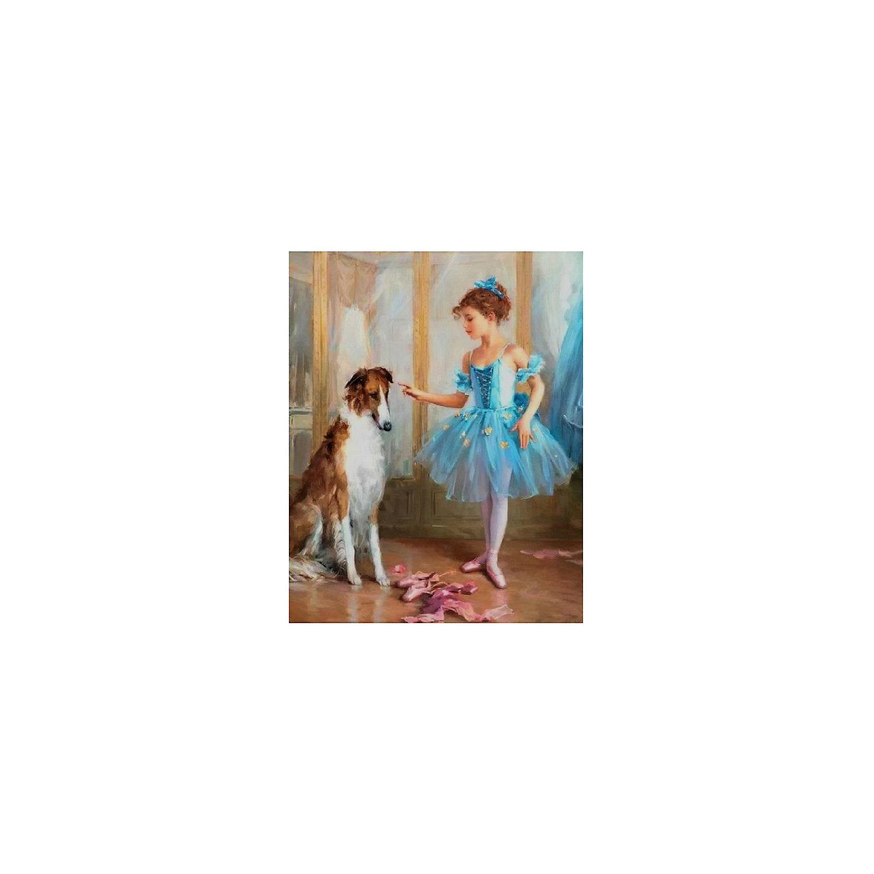 Картина по номерам К. Разумов: Разговор по душам, 40*50 смРисование<br>Картины с раскраской по номерам размером 40*50. На деревянном подрамнике, с прогрунтованным холстом и  нанесенными контурами картины, с указанием цвета закраски, акриловыми красками, 3 кисточками и креплением на стену. Уровень сложности, количество красок указаны на коробке.<br><br>Ширина мм: 500<br>Глубина мм: 400<br>Высота мм: 40<br>Вес г: 730<br>Возраст от месяцев: 108<br>Возраст до месяцев: 2147483647<br>Пол: Унисекс<br>Возраст: Детский<br>SKU: 5417708