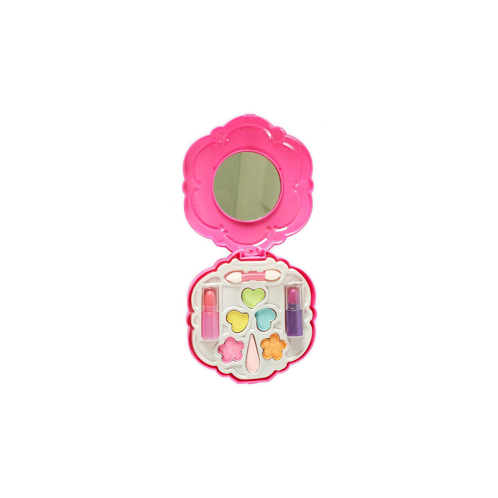 Игровой косметический набор Ракушка, Beauty AngelКосметика, грим и парфюмерия<br>Характеристики:<br><br>• Вид игрушек: детская косметика<br>• Пол: для девочки<br>• Материал: пластик, натуральные компоненты и красители<br>• Цвет: оттенки розового, голубой, желтый, зеленый, оранжевый и др.<br>• Комплектация: <br> тени для век – 8 тонов<br> губная помада – 2 тона<br> кисточка – 1 шт.<br>• Форма футляра: ракушка<br>• Размер упаковки (Д*Ш*В): 27,4*3*30 см<br>• Вес: 278 г<br>• Упаковка: картонная коробка с блистером<br><br>Игровой косметический набор Ракушка, Beauty Angel от всемирно известного торгового бренда Dileny, который занимается разработкой, дизайном и выпуском детской декоративной косметики с учетом модных и стильных тенденций мира моды. Линейка наборов Beauty Angel представляет собой косметические наборы в состав которых входят как матовые, так и перламутровые оттенки, аксессуары и инструменты для нанесения макияжа. <br><br>Декоративная косметика от Dileny легко наносится, ложится ровным слоем, не осыпается и легко смывается либо теплой водой, либо детским косметическим маслом. Косметика обладает повышенными гипоаллергенными свойствами и легким ароматом. Игровой косметический набор Ракушка, Beauty Angel состоит из 8 оттенков теней для век, 2 оттенков губной помады и кисточки. Футляр выполнен в форме ракушки, на крышке с внутренней стороны предусмотрено зеркальце.<br><br>Игровой косметический набор Ракушка, Beauty Angel станет идеальным подарком для девочки к любому празднику.<br><br>Игровой косметический набор Ракушка, Beauty Angel можно купить в нашем интернет-магазине.<br><br>Ширина мм: 182<br>Глубина мм: 33<br>Высота мм: 351<br>Вес г: 170<br>Возраст от месяцев: 60<br>Возраст до месяцев: 120<br>Пол: Женский<br>Возраст: Детский<br>SKU: 5418951