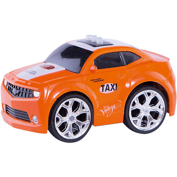 Купить Машинка интерактивная со светом и звуком, оранжевая, Blue Sea, Китай, Мужской