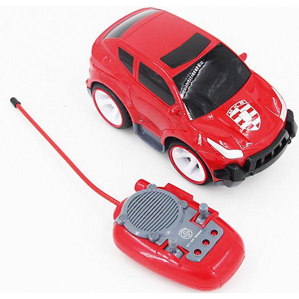Машинка на радиоуправлении Спорткар, со звуковыми эффектами, Blue SeaРадиоуправляемые машины<br>Машинка на радиоуправлении Спорткар, со звуковыми эффектами, Blue Sea (Блу Сии).<br><br>Характеристики:<br><br>- Цвет: красный.<br>- Состав: пластик, металл.<br>- Размер машины: 12,5 х 7 х 7 см<br>- Радиоуправляемая игрушка.<br>- В комплекте: машинка, пульт управления.<br><br>Внимание: элементы питания в комплект не входят!<br><br>Машинка на радиоуправлении Спорткар, со звуковыми эффектами - .это отличная игрушка от бренда Blue Sea (Блу Сии). Эта маленькая машинка с большими колесами одна из целой серии радиоуправляемых машинок. Яркий, привлекающий внимание дизайн, надолго займет внимание вашего малыша. Игрушка выполнена из качественных сертифицированных материалов.<br><br>Машинку на радиоуправлении Спорткар, со звуковыми эффектами, Blue Sea (Блу Сии), можно купить в нашем интернет - магазине.<br>Ширина мм: 310; Глубина мм: 210; Высота мм: 160; Вес г: 700; Возраст от месяцев: 36; Возраст до месяцев: 2147483647; Пол: Мужской; Возраст: Детский; SKU: 5419368;