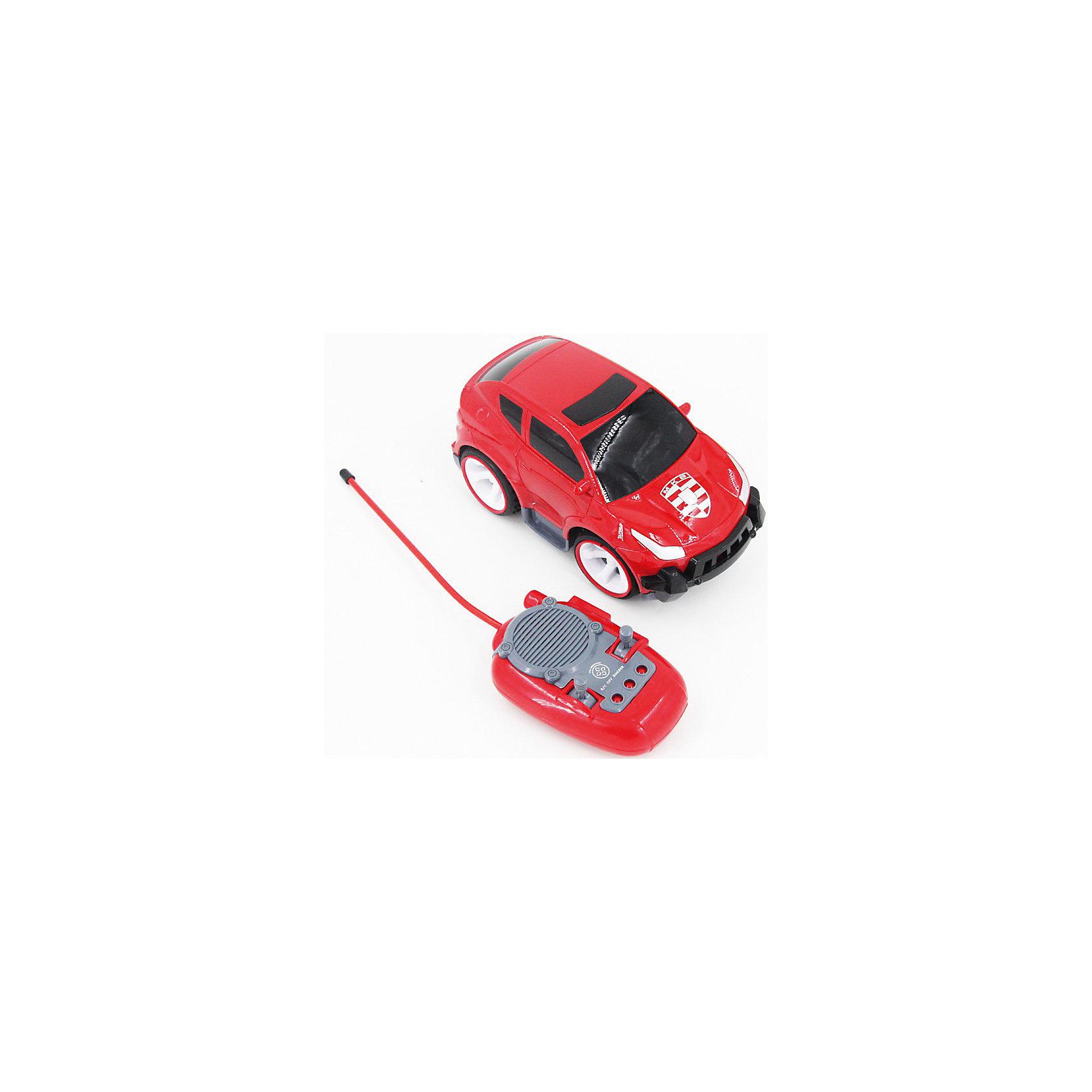Машинка на радиоуправлении Спорткар, со звуковыми эффектами, Blue SeaРадиоуправляемый транспорт<br>Машинка на радиоуправлении Спорткар, со звуковыми эффектами, Blue Sea (Блу Сии).<br><br>Характеристики:<br><br>- Цвет: красный.<br>- Состав: пластик, металл.<br>- Размер машины: 12,5 х 7 х 7 см<br>- Радиоуправляемая игрушка.<br>- В комплекте: машинка, пульт управления.<br><br>Внимание: элементы питания в комплект не входят!<br><br>Машинка на радиоуправлении Спорткар, со звуковыми эффектами - .это отличная игрушка от бренда Blue Sea (Блу Сии). Эта маленькая машинка с большими колесами одна из целой серии радиоуправляемых машинок. Яркий, привлекающий внимание дизайн, надолго займет внимание вашего малыша. Игрушка выполнена из качественных сертифицированных материалов.<br><br>Машинку на радиоуправлении Спорткар, со звуковыми эффектами, Blue Sea (Блу Сии), можно купить в нашем интернет - магазине.<br><br>Ширина мм: 310<br>Глубина мм: 210<br>Высота мм: 160<br>Вес г: 700<br>Возраст от месяцев: 36<br>Возраст до месяцев: 2147483647<br>Пол: Мужской<br>Возраст: Детский<br>SKU: 5419368