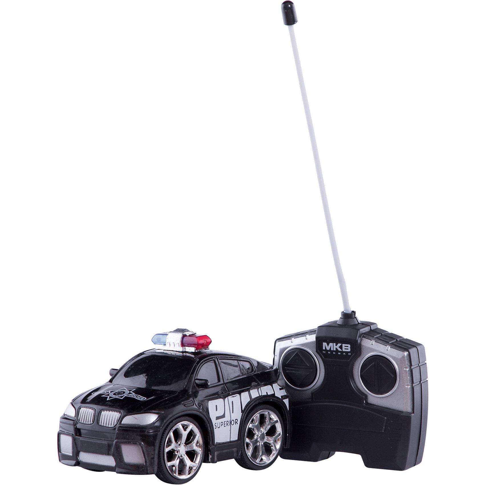 Машинка на радиоуправлении Police Car, черная, Blue SeaРадиоуправляемый транспорт<br>Машинка на радиоуправлении Police Car, черная, Blue Sea<br><br>Характеристики:<br><br>- Цвет: черный.<br>- Состав: пластик, металл.<br>- Радиоуправляемая игрушка.<br>- В комплекте: машинка, пульт управления.<br><br>Внимание: элементы питания в комплект не входят!<br><br>Машинка на радиоуправлении Police Car, черная – это один из представителей яркой серии машинок Mini Car от бренда Blue Sea (Блу Сии). Она проста в управлении, двигается вперед, назад, влево и вправо. Для того, чтобы начать играть, достаточно просто докупить элементы питания для машинки и пульта управления. Вашему малышу обязательно понравятся простота управления и необычный дизайн в виде полицейской машины.<br><br>Машинку на радиоуправлении Police Car, черную, Blue Sea, можно купить в нашем интернет – магазине.<br><br>Ширина мм: 210<br>Глубина мм: 110<br>Высота мм: 110<br>Вес г: 300<br>Возраст от месяцев: 36<br>Возраст до месяцев: 2147483647<br>Пол: Мужской<br>Возраст: Детский<br>SKU: 5419374