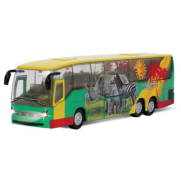 Автобус, свет+звук, ТЕХНОПАРКМашинки<br>Автобус, металл., инерц., свет+звук, открываются двери.<br><br>Ширина мм: 50<br>Глубина мм: 130<br>Высота мм: 250<br>Вес г: 260<br>Возраст от месяцев: 36<br>Возраст до месяцев: 84<br>Пол: Мужской<br>Возраст: Детский<br>SKU: 5420324