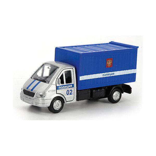 Машина Газ Газель Полиция, ТЕХНОПАРКМашинки<br>Характеристики:<br><br>• тип игрушки: машина;<br>• возраст: от 3 лет;<br>• размер: 16х15х27 см;<br>• цвет: синий;<br>• материал: металл, пластик;<br>• бренд: Технопарк;<br>• страна производителя: Китай.<br><br>Машина Технопарк «Газ Газель Полиция» имеет звуковые и световые эффекты. Дополнит коллекцию городских служб.<br><br>Тематические игры с интересными сюжетами разбудят воображение ребёнка, а манипуляции с игрушкой потренируют мелкую моторику пальцев рук. Масштабные модели от компании «Технопарк» отличаются качественными ударопрочными материалами, продлевающими долговечность изделия тщательным исполнением со вниманием ко всем деталям, и имеют требуемые сертификаты соответствия для детских игрушек.<br><br>Машину Технопарк  «Газ Газель Полиция» можно купить в нашем интернет-магазине.<br>Ширина мм: 50; Глубина мм: 140; Высота мм: 180; Вес г: 160; Возраст от месяцев: 36; Возраст до месяцев: 84; Пол: Мужской; Возраст: Детский; SKU: 5420345;