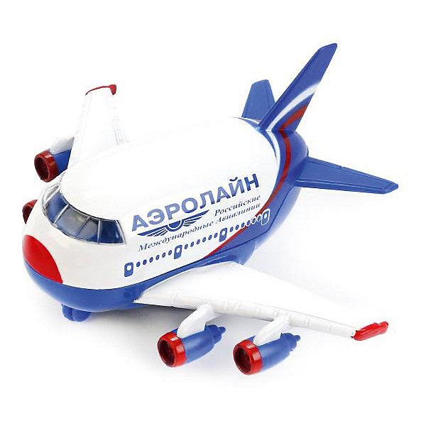 Самолет, свет+звук, ТЕХНОПАРКСамолёты и вертолёты<br>Характеристики:<br><br>• тип игрушки: самолет;<br>• возраст: от 3 лет;<br>• размер: 15х14х21 см;<br>• тип батареек: 3хLR54;<br>• наличие батареек: в комплект не входят;<br>• цвет: белый;<br>• материал: металл, пластик;<br>• бренд: Технопарк;<br>• страна производителя: Китай.<br><br>Технопарк «Самолет» - мини-копия современного российского пассажирского авиалайнера. Игрушка прекрасно декорирована, выполнена с соблюдением всех внешних особенностей своего прототипа, все элементы декора тщательно проработаны. Для ещё большей реалистичности в изделии предусмотрены световые и звуковые эффекты. Игрушка выполнена из металла и высокопрочного пластика.<br><br>Тематические игры с интересными сюжетами разбудят воображение ребёнка, а манипуляции с игрушкой потренируют мелкую моторику пальцев рук. Масштабные модели от компании «Технопарк» отличаются качественными ударопрочными материалами, продлевающими долговечность изделия тщательным исполнением со вниманием ко всем деталям, и имеют требуемые сертификаты соответствия для детских игрушек.<br><br>Технопарк  «Самолет» можно купить в нашем интернет-магазине.<br>Ширина мм: 120; Глубина мм: 130; Высота мм: 150; Вес г: 170; Возраст от месяцев: 36; Возраст до месяцев: 84; Пол: Мужской; Возраст: Детский; SKU: 5420360;