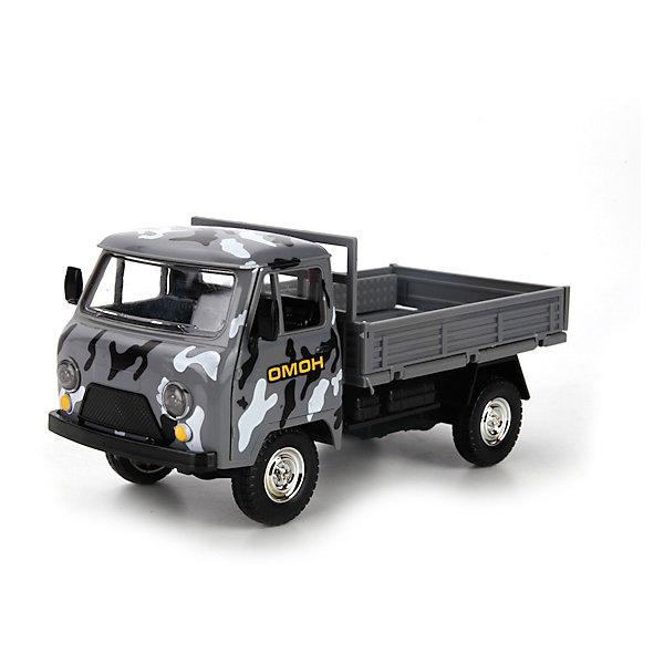 Машина УАЗ, свет+звук, ТЕХНОПАРКВоенный транспорт<br>Характеристики:<br><br>• тип игрушки: машина;<br>• возраст: от 3 лет;<br>• размер: 24х11х15 см;<br>• цвет: серый;<br>• материал: металл, пластик;<br>• бренд: Технопарк;<br>• страна производителя: Китай.<br><br>Машина Технопарк «УАЗ» представлена в виде модели, которая в точности повторяет свой реальный прототип. Автомобиль выполнен очень натуралистично, каждый его элемент изготовлен с тщательной детальной проработкой. Двери у модели открываются, а тент легко снимается, благодаря этому в кузове машины можно будет перевозить различные предметы. Модель оснащена функциями света и звука - это сделает игровой процесс более увлекательным и интересным.<br><br>Тематические игры с интересными сюжетами разбудят воображение ребёнка, а манипуляции с игрушкой потренируют мелкую моторику пальцев рук. Масштабные модели от компании «Технопарк» отличаются качественными ударопрочными материалами, продлевающими долговечность изделия тщательным исполнением со вниманием ко всем деталям, и имеют требуемые сертификаты соответствия для детских игрушек.<br><br>Машину Технопарк «УАЗ» можно купить в нашем интернет-магазине.<br>Ширина мм: 110; Глубина мм: 150; Высота мм: 240; Вес г: 410; Возраст от месяцев: 36; Возраст до месяцев: 84; Пол: Мужской; Возраст: Детский; SKU: 5420381;