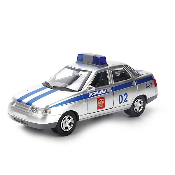 Машина LADA 110, со светом и звуком, ТЕХНОПАРКМашинки<br>Характеристики:<br><br>• тип игрушки: машина;<br>• возраст: от 3 лет;<br>• размер: 19х13х6 см;<br>• цвет: серый;<br>• материал: металл, пластик;<br>• бренд: Технопарк;<br>• страна производителя: Китай.<br><br>Машина Технопарк «LADA 110» - младший брат и точная копия ВАЗ-2110 «LADA 110» — автомобиля Волжского автомобильного завода, ставшего на замену линейке Samara. Достаточно точная детализация, а также стилизация под военный авто - делают модель подарком как для истинного коллекционера моделей машин, так  и для мальчика от 3х лет. Благодаря своей огромной схожести со «старшим братом», а также подвижности некоторых элементов с машинкой будет интересно играть. В игрушку встроен инерционный механизм, просто оттяните машинку назад и отпустите её, машинка поедет вперёд. Во время движения автомобиль активируются световые и звуковые эффекты.<br><br>Тематические игры с интересными сюжетами разбудят воображение ребёнка, а манипуляции с игрушкой потренируют мелкую моторику пальцев рук. Масштабные модели от компании «Технопарк» отличаются качественными ударопрочными материалами, продлевающими долговечность изделия тщательным исполнением со вниманием ко всем деталям, и имеют требуемые сертификаты соответствия для детских игрушек.<br><br>Машину Технопарк «LADA 110» можно купить в нашем интернет-магазине.<br>Ширина мм: 100; Глубина мм: 130; Высота мм: 260; Вес г: 410; Возраст от месяцев: 36; Возраст до месяцев: 84; Пол: Мужской; Возраст: Детский; SKU: 5420382;