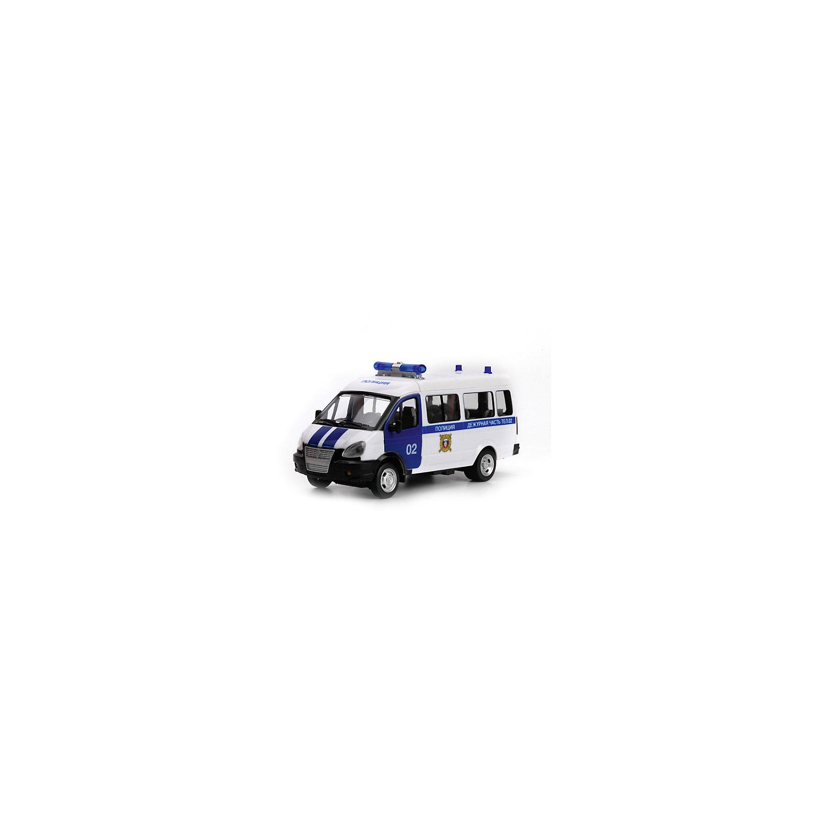 Машина ГАЗ Газель Полиция, свет+звук, ТЕХНОПАРКМашинки<br>Машина Технопарк пластиковая инерционная ГАЗ. Газель Полиция, свет+звук.<br><br>Ширина мм: 110<br>Глубина мм: 150<br>Высота мм: 250<br>Вес г: 410<br>Возраст от месяцев: 36<br>Возраст до месяцев: 84<br>Пол: Мужской<br>Возраст: Детский<br>SKU: 5420391