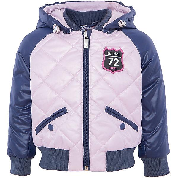 Купить Куртка для девочки BOOM by Orby, Россия, синий, 104, 98, 92, 86, Женский
