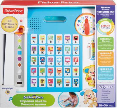 Mattel Обучающая панель Ученого Щенка, серия Смейся и учись, Fisher-Price