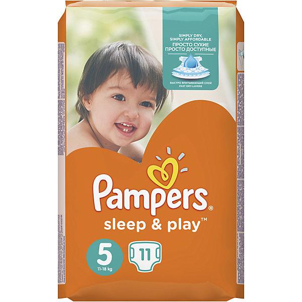 Подгузники Pampers  Sleep & Play Junior, 11-18 кг., 11 шт.