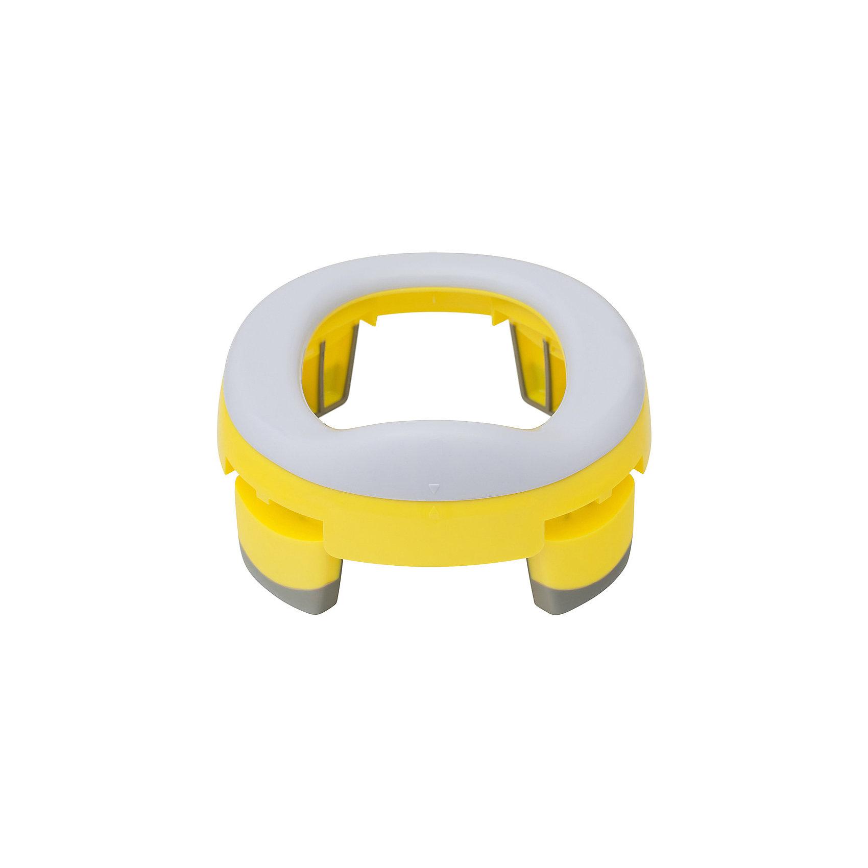 Дорожный горшок и насадка на унитаз HandyPotty, жёлтый