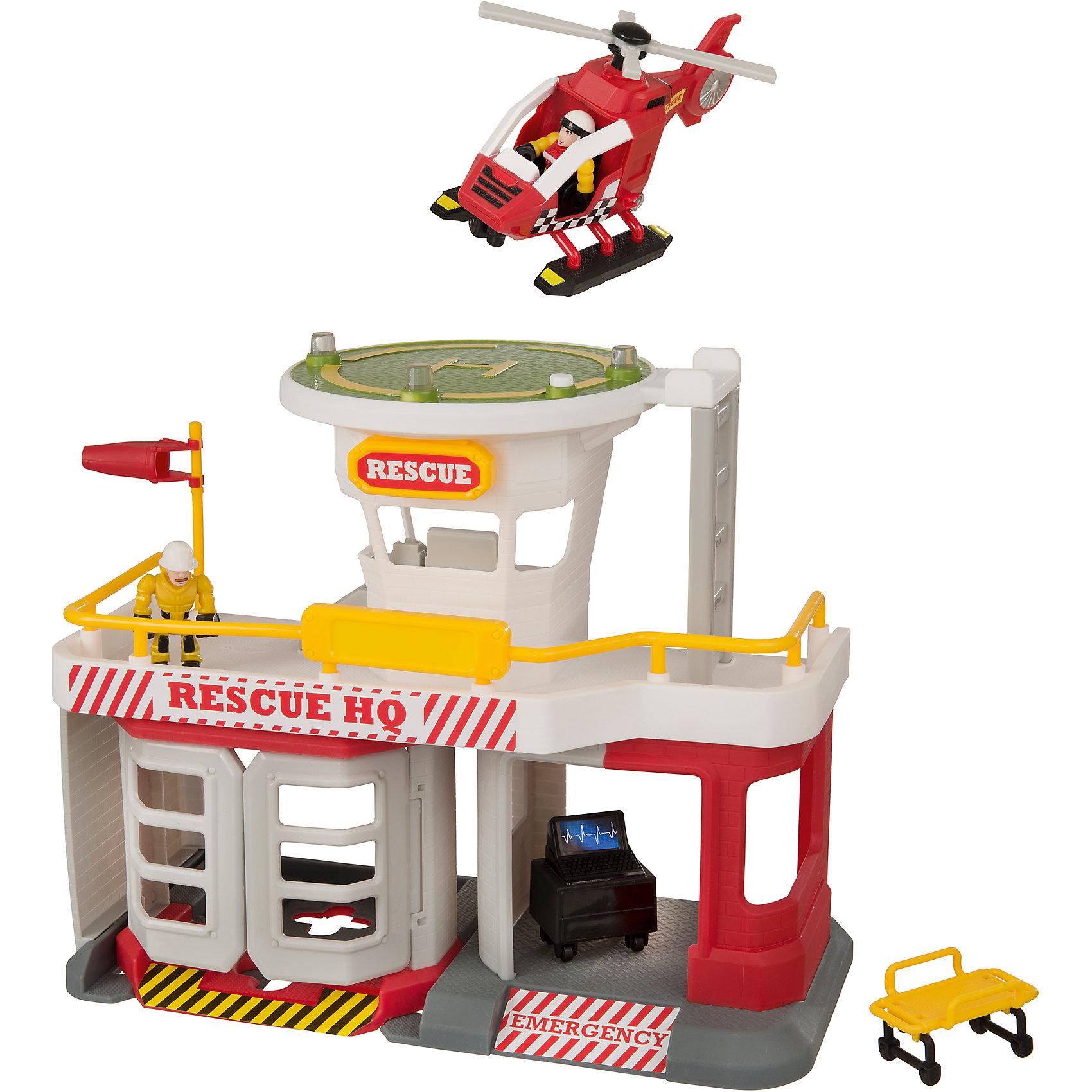 Спасательная станция МЧС, TeamsterzИгровые наборы<br>Спасательная станция МЧС, Teamsterz<br><br>Характеристики:<br><br>• Возраст: от 3 лет<br>• Материал: пластмасса, металл<br>• Высота парковки: 38 см<br>• Батарейки: 3хААА<br>• В комплекте: станция, 2 фигурки, вертолет<br><br>Каждый ребенок мечтает быть спасателем. С помощью этого игрового набора малыш сможет разнообразить игру в спасателей и сделать ее максимально реалистичной и безопасной. Комплекс обладает световыми и звуковыми эффектами. Дополнительно в комплекте идут две фигурки для игры и вертолет.<br><br>Спасательная станция МЧС, Teamsterz можно купить в нашем интернет-магазине.<br><br>Ширина мм: 510<br>Глубина мм: 321<br>Высота мм: 144<br>Вес г: 1284<br>Возраст от месяцев: 36<br>Возраст до месяцев: 168<br>Пол: Мужской<br>Возраст: Детский<br>SKU: 5427400
