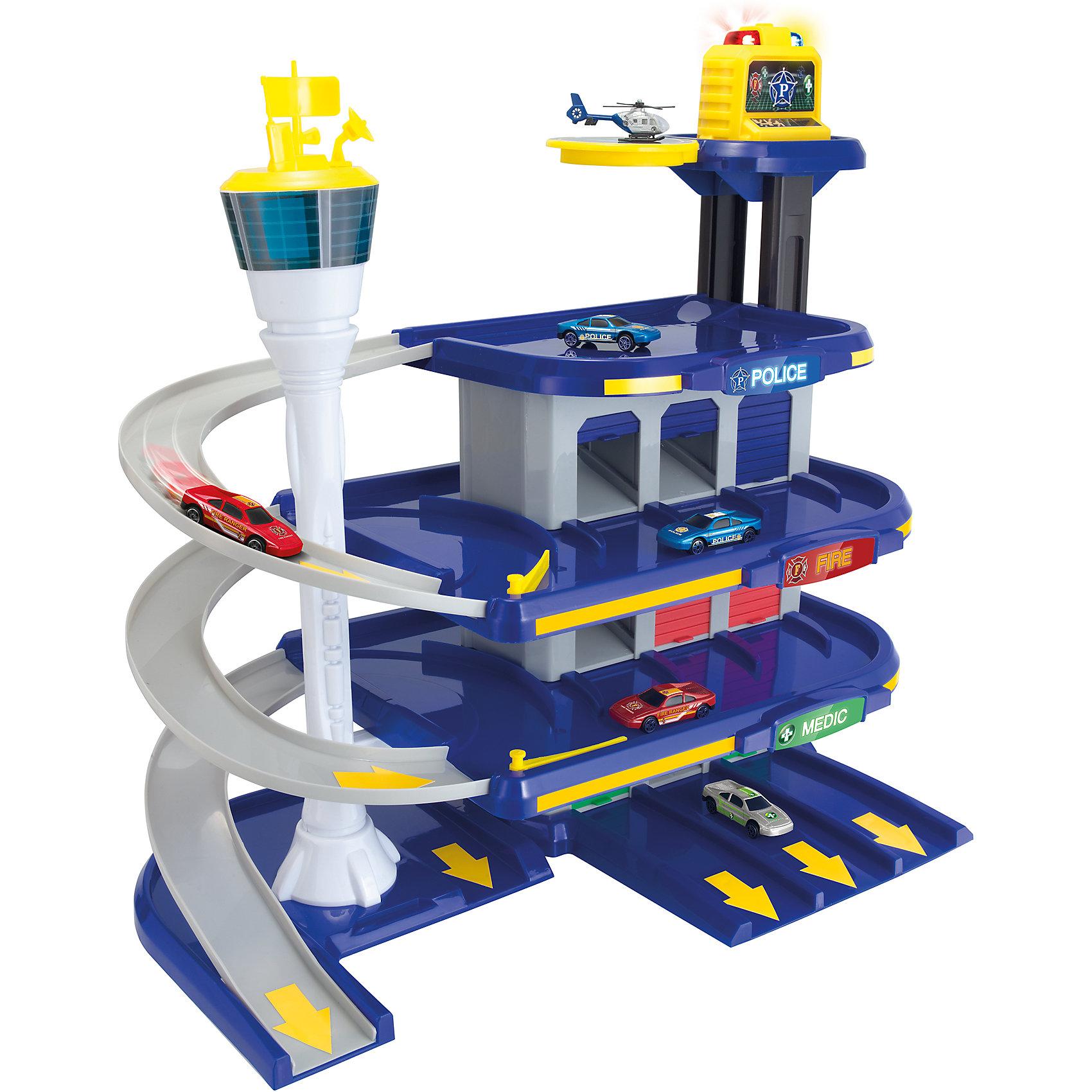 Центр спасательной службы, TeamsterzИгровые наборы<br>Центр спасательной службы, Teamsterz<br><br>Характеристики:<br><br>• Возраст: от 3 лет<br>• Материал: пластмасса, металл<br>• Высота парковки: 60 см<br>• Батарейки: 3хАА<br>• В комплекте: парковка, 2 машинки<br><br>Игровой набор центр спасательной службы поможет ребенку сделать игру в спасателей еще более увлекательной. На этой парковке можно разместить полицию, пожарную службу и скорую помощь. У парковки есть вертолетная площадка и световые эффекты, которые помогут сориентироваться в темноте. В комплект входят две машинки.<br><br>Центр спасательной службы, Teamsterz можно купить в нашем интернет-магазине.<br><br>Ширина мм: 610<br>Глубина мм: 490<br>Высота мм: 135<br>Вес г: 2100<br>Возраст от месяцев: 36<br>Возраст до месяцев: 168<br>Пол: Мужской<br>Возраст: Детский<br>SKU: 5427404