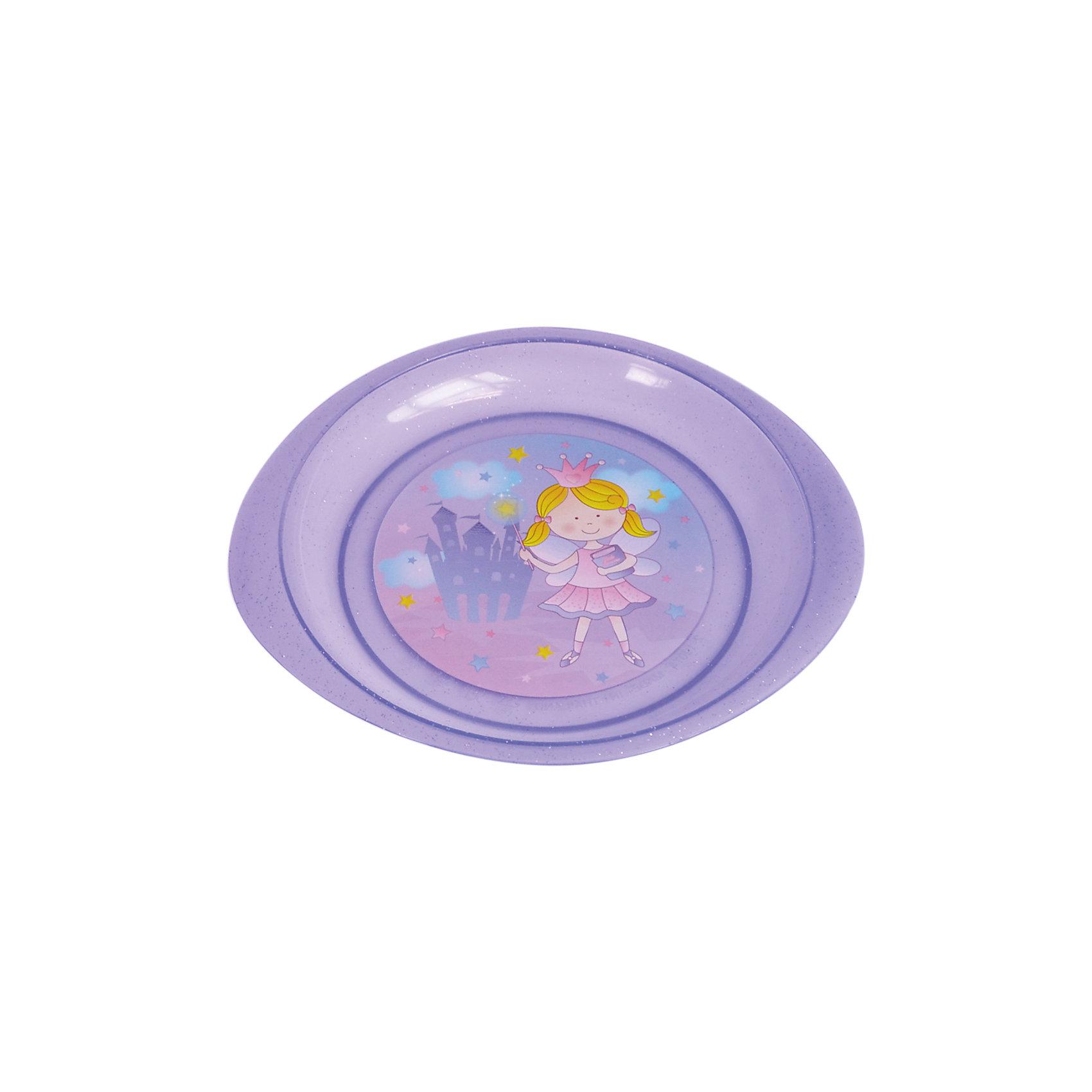 Тарелочка для вторых блюд, Kurnosiki, фиолетовыйПосуда для малышей<br>Характеристики:<br><br>• Наименование: тарелочка для вторых блюд<br>• Материал: пластик<br>• Пол: для девочки<br>• Цвет: фиолетовый<br>• Тематика рисунка: принцесса, замок<br>• Можно использовать как для холодных, так и для горячих блюд<br>• Можно использовать для СВЧ<br>• Удобные ручки с антискользящей поверхностью<br>• Декорирована блестками<br>• Вес: 80 г<br>• Параметры (Д*Ш*В): 28*21*2 см <br>• Особенности ухода: разрешается мыть в посудомоечной машине<br><br>Тарелочка для вторых блюд, Kurnosiki, фиолетовый выполнена из безопасного и ударопрочного пластика, по бокам имеются литые нескользящие ручки. <br><br>Тарелочка для вторых блюд, Kurnosiki, фиолетовый выполнена в ярком дизайне: дно оформлено сюжетной картинкой принцессы на фоне замка, весь корпус декорирован блестками. Рисунок устойчив к выцветанию и истиранию. Тарелочка для вторых блюд от Курносиков позволит без труда накормить даже самых непоседливых маленьких принцесс!<br><br>Тарелочку для вторых блюд, Kurnosiki, фиолетовый можно купить в нашем интернет-магазине.<br><br>Ширина мм: 70<br>Глубина мм: 100<br>Высота мм: 190<br>Вес г: 63<br>Возраст от месяцев: 4<br>Возраст до месяцев: 36<br>Пол: Женский<br>Возраст: Детский<br>SKU: 5428717